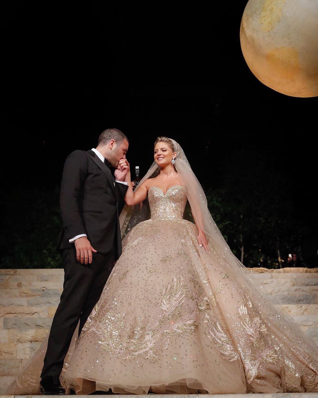 Elie Saab Jr. and Christina Mourad wed in Lebanon