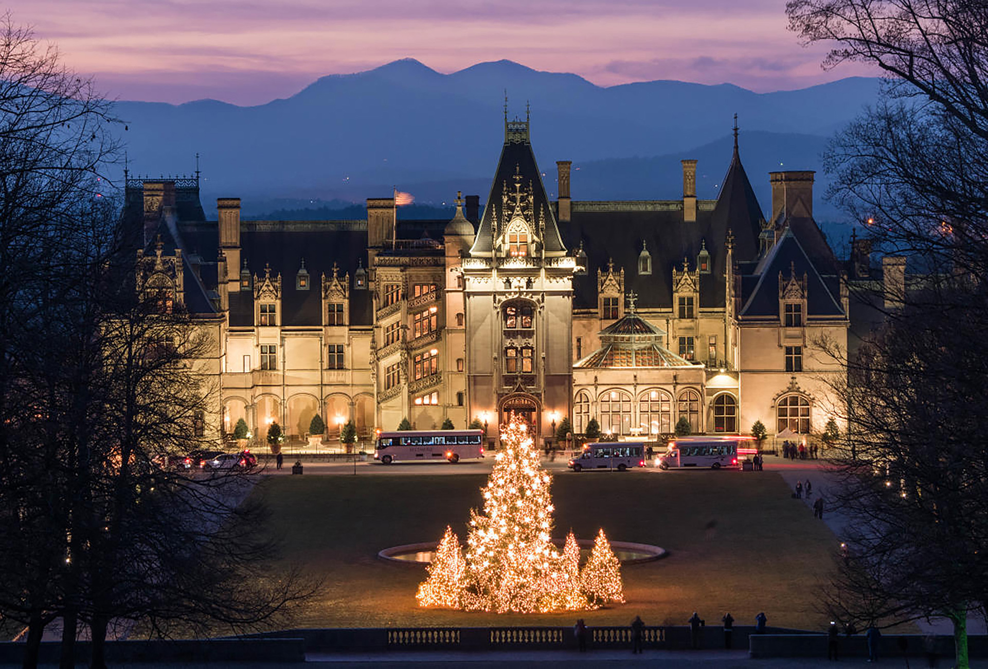 The Biltmore at night