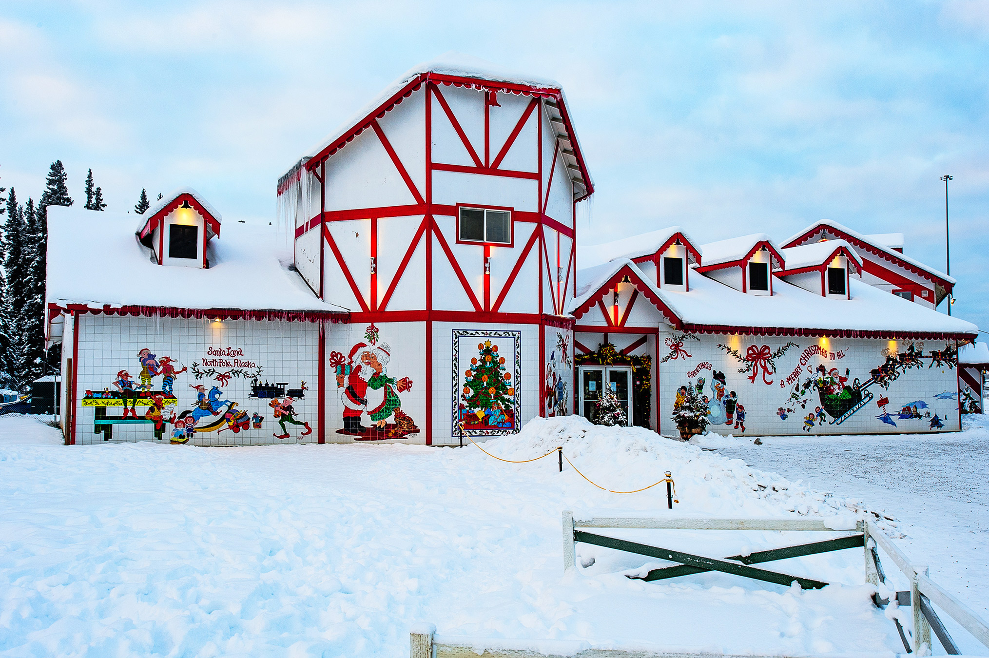 Santa Clause house