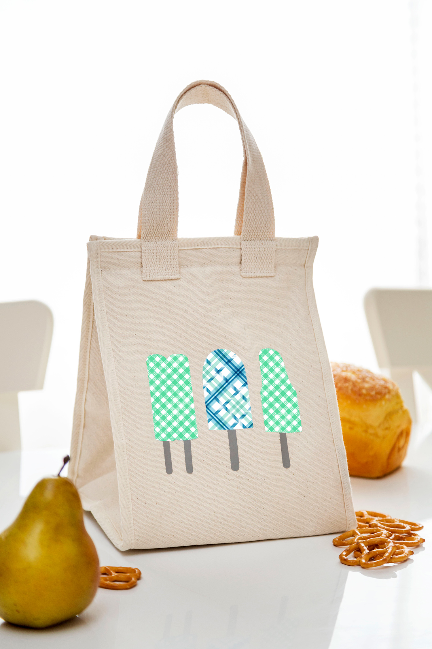 cricut popsicle personalized lunch bag
