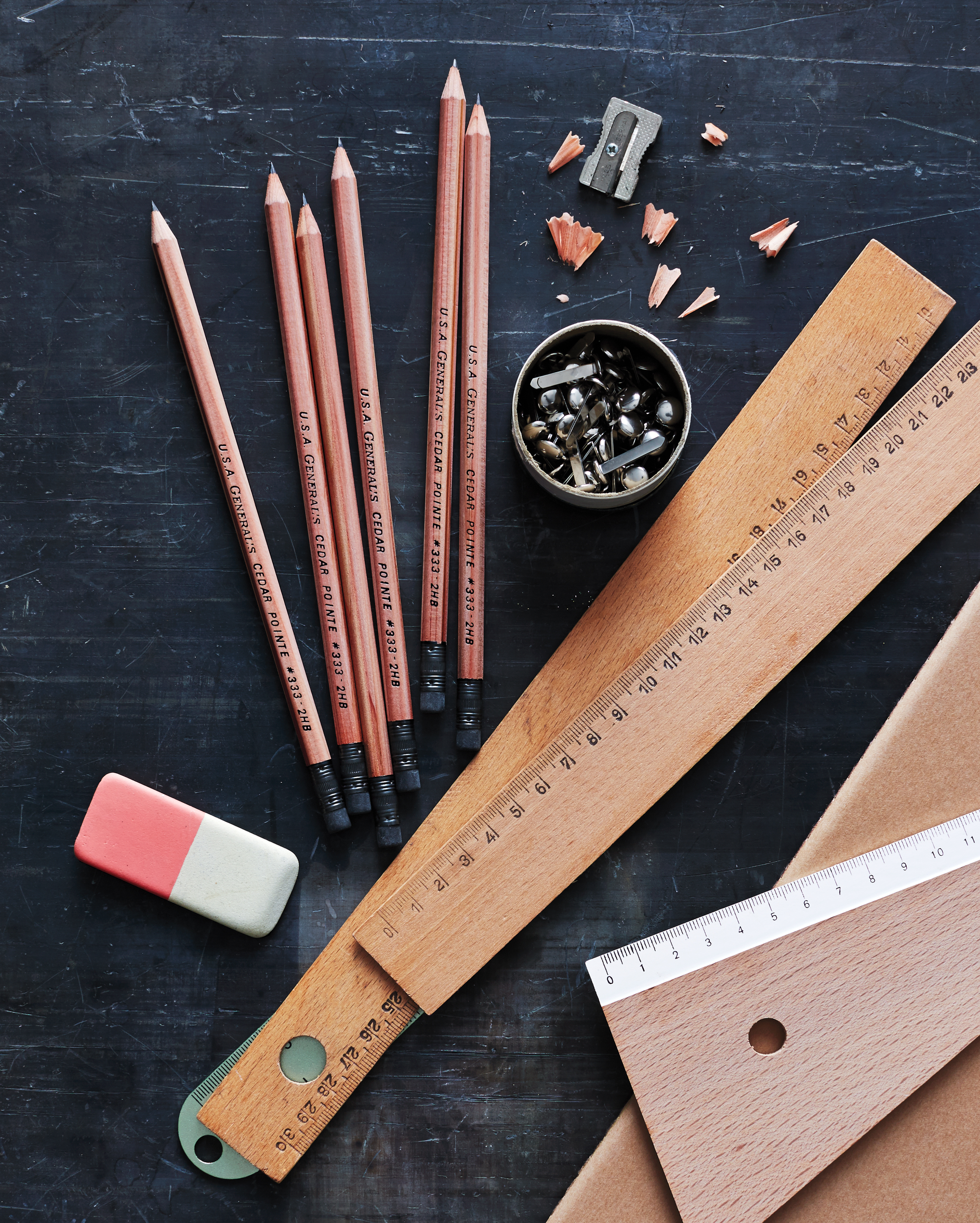 pencils from the General Pencil Company