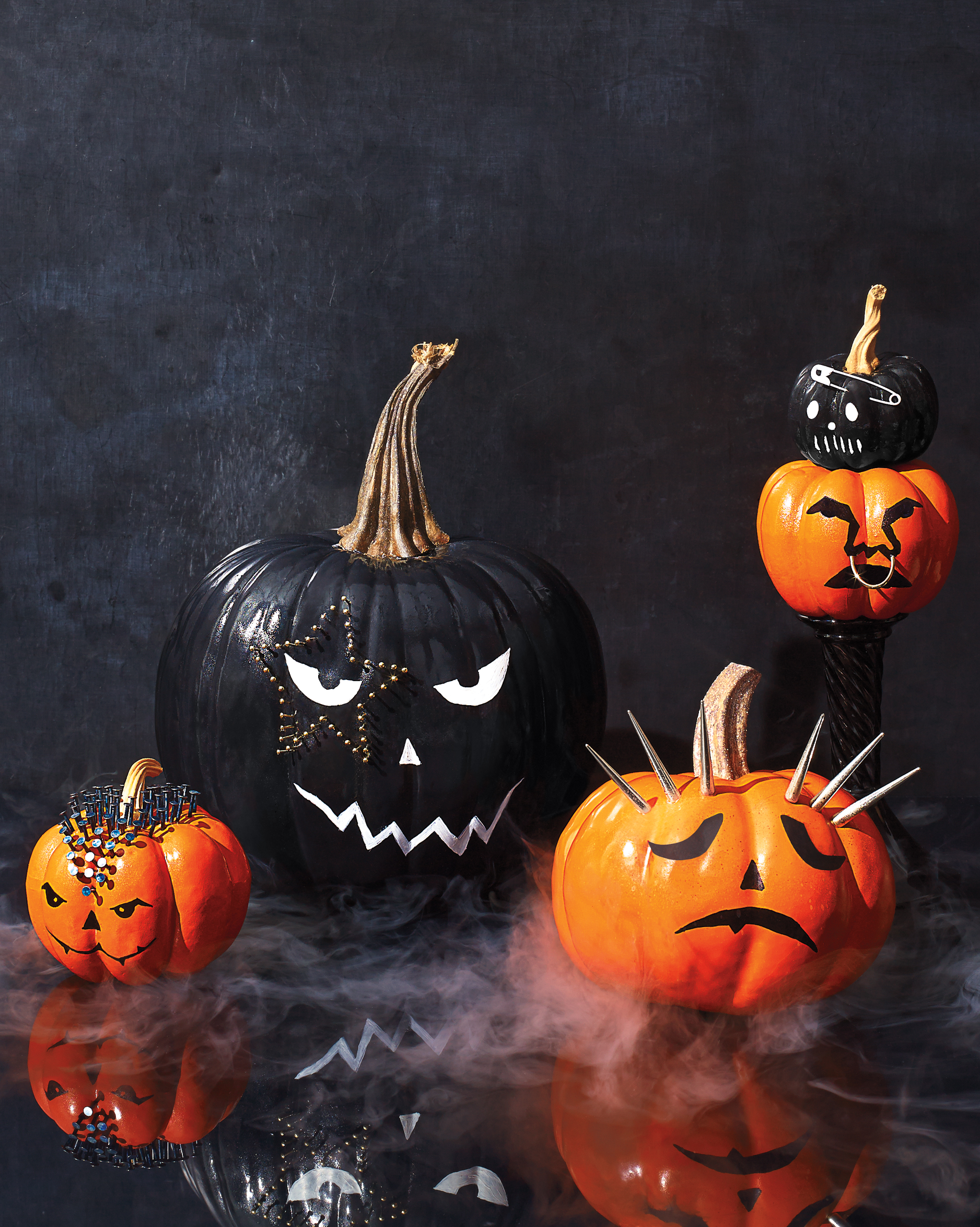 rock and roll pumpkins