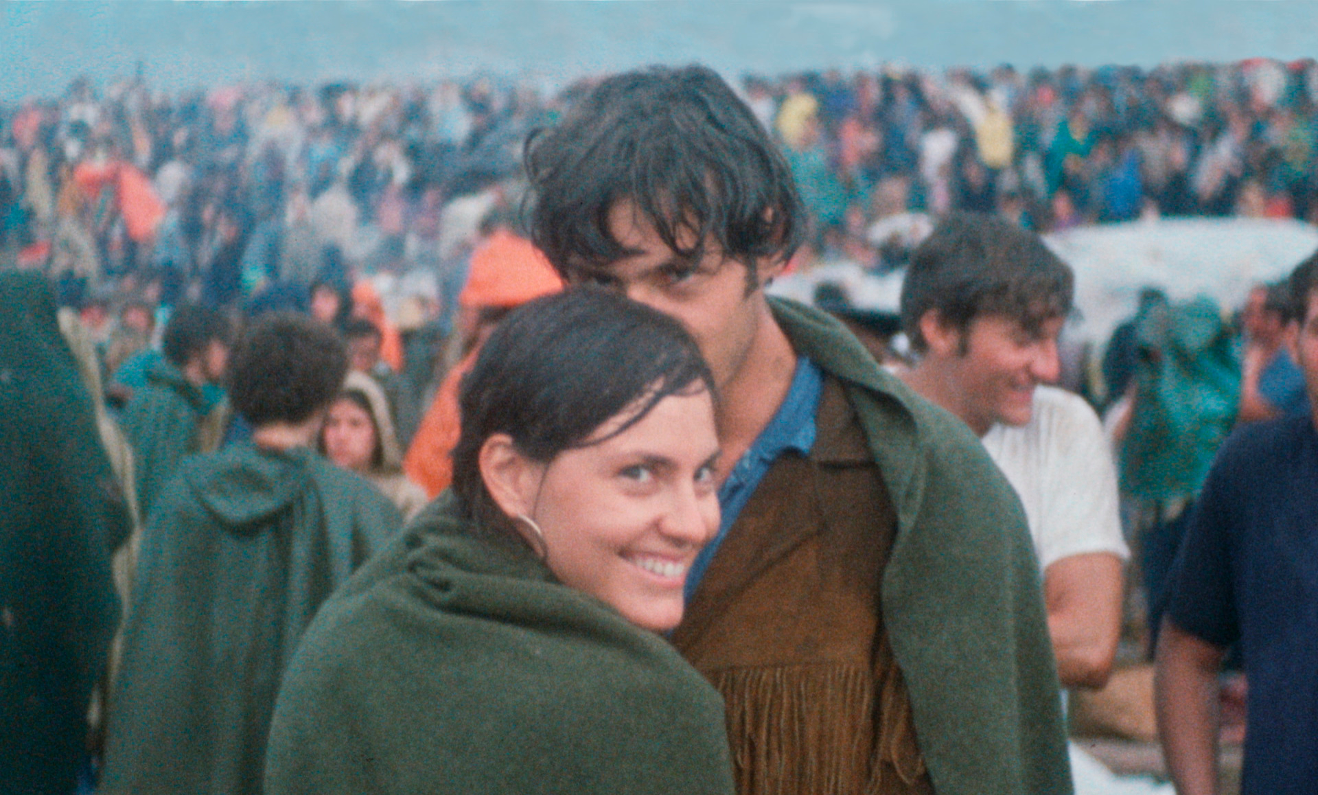 Judy and Jerry Griffith at Woodstock