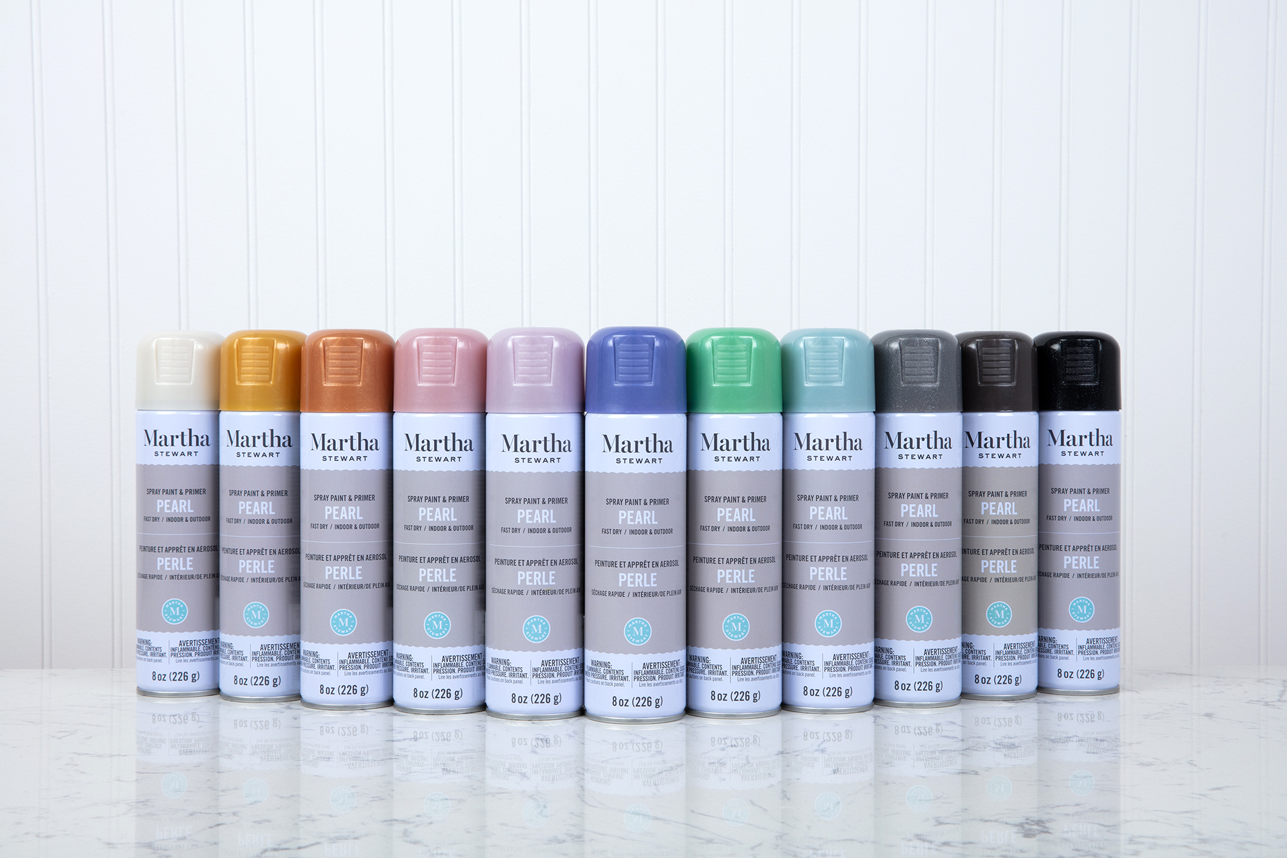 martha stewart spray paint in color order