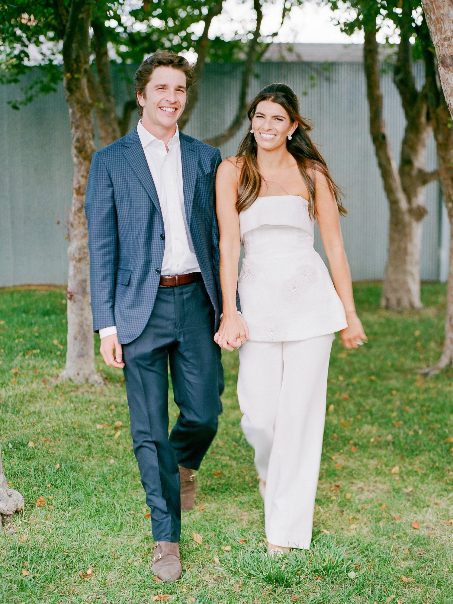 taylor frankie rehearsal dinner couple walking