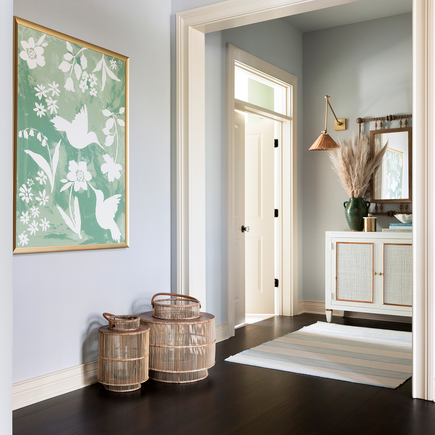 minnesota home entry way painting