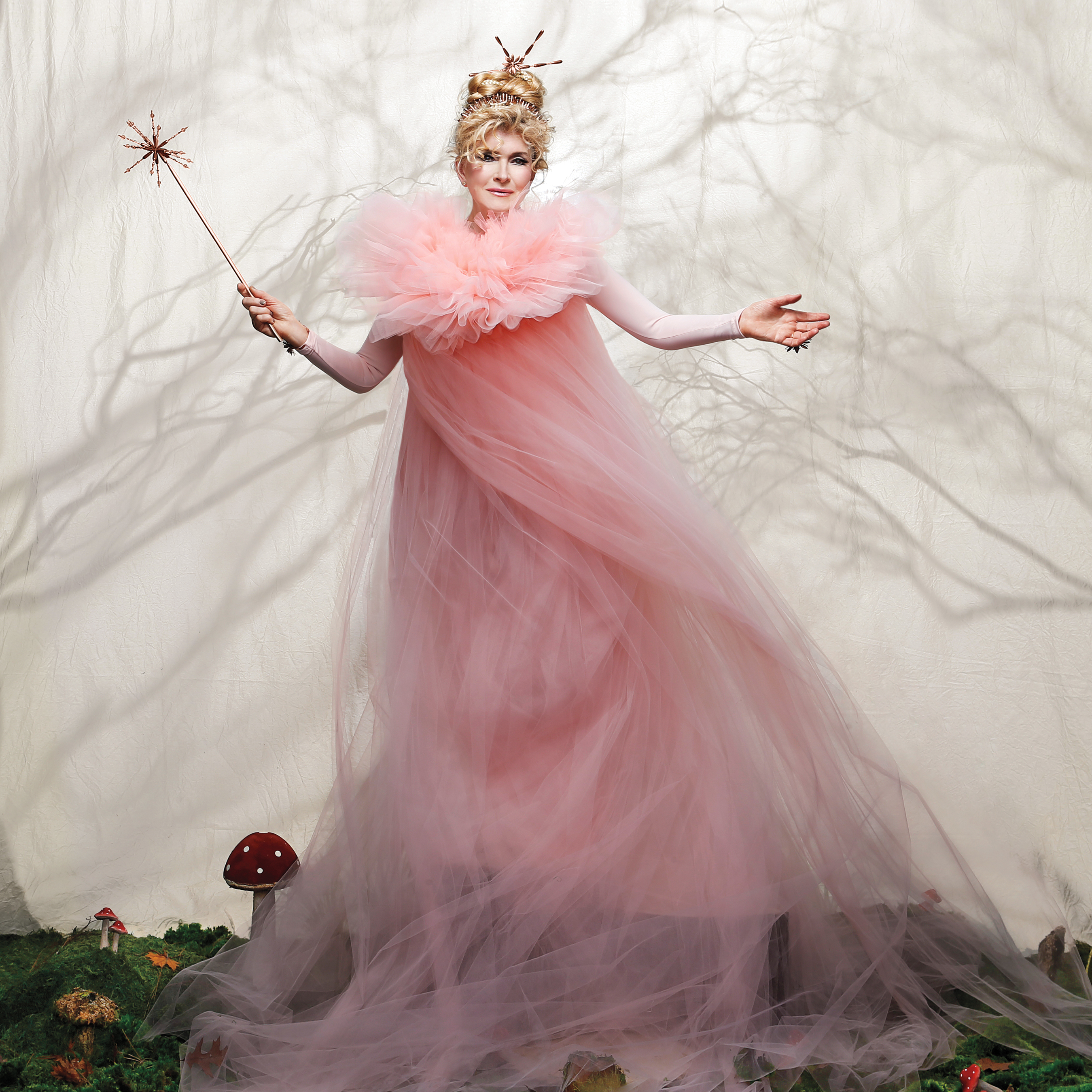 Martha Stewart in her Halloween costume as Fairy GrandMartha