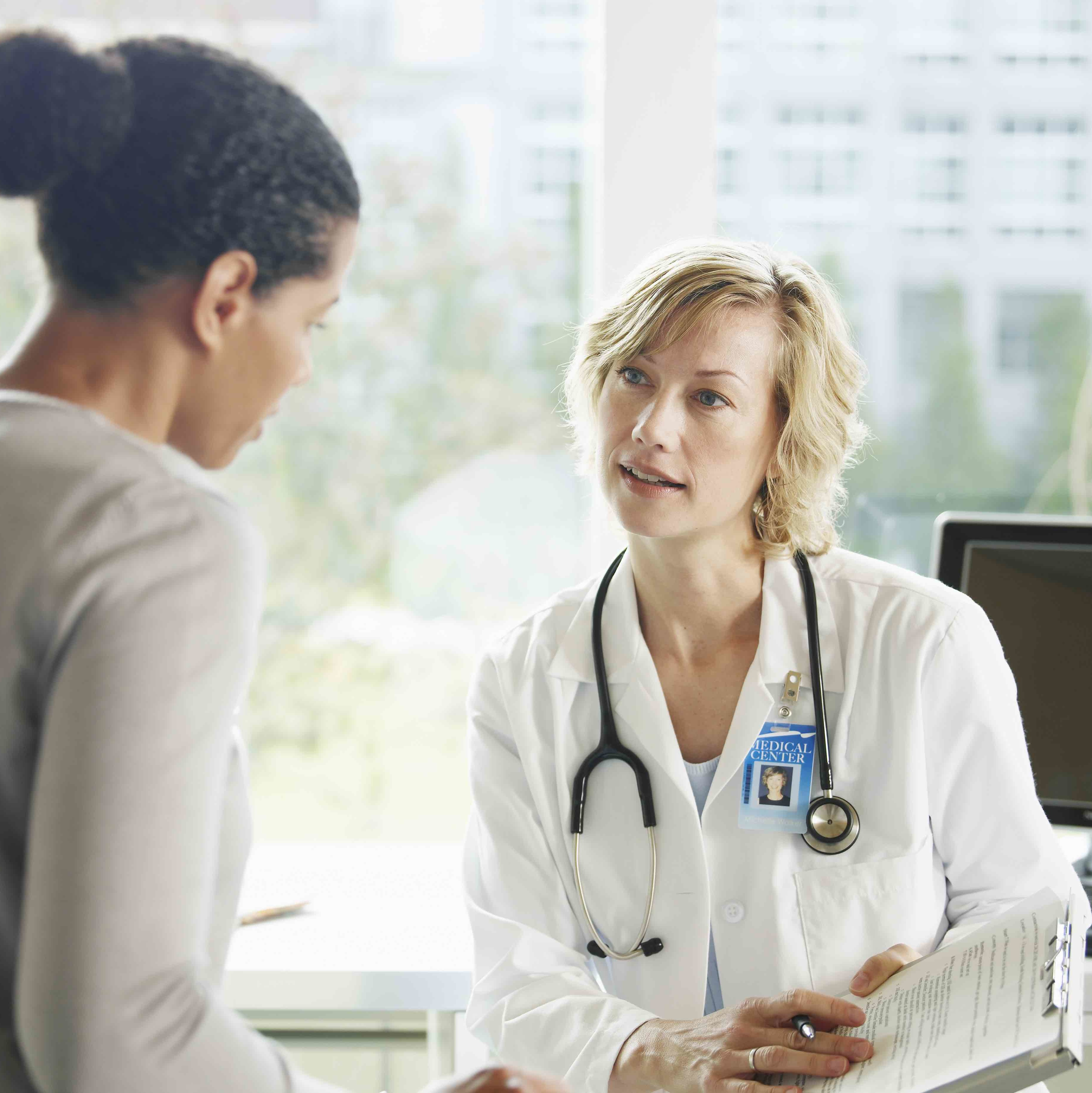 woman-at-doctor-health