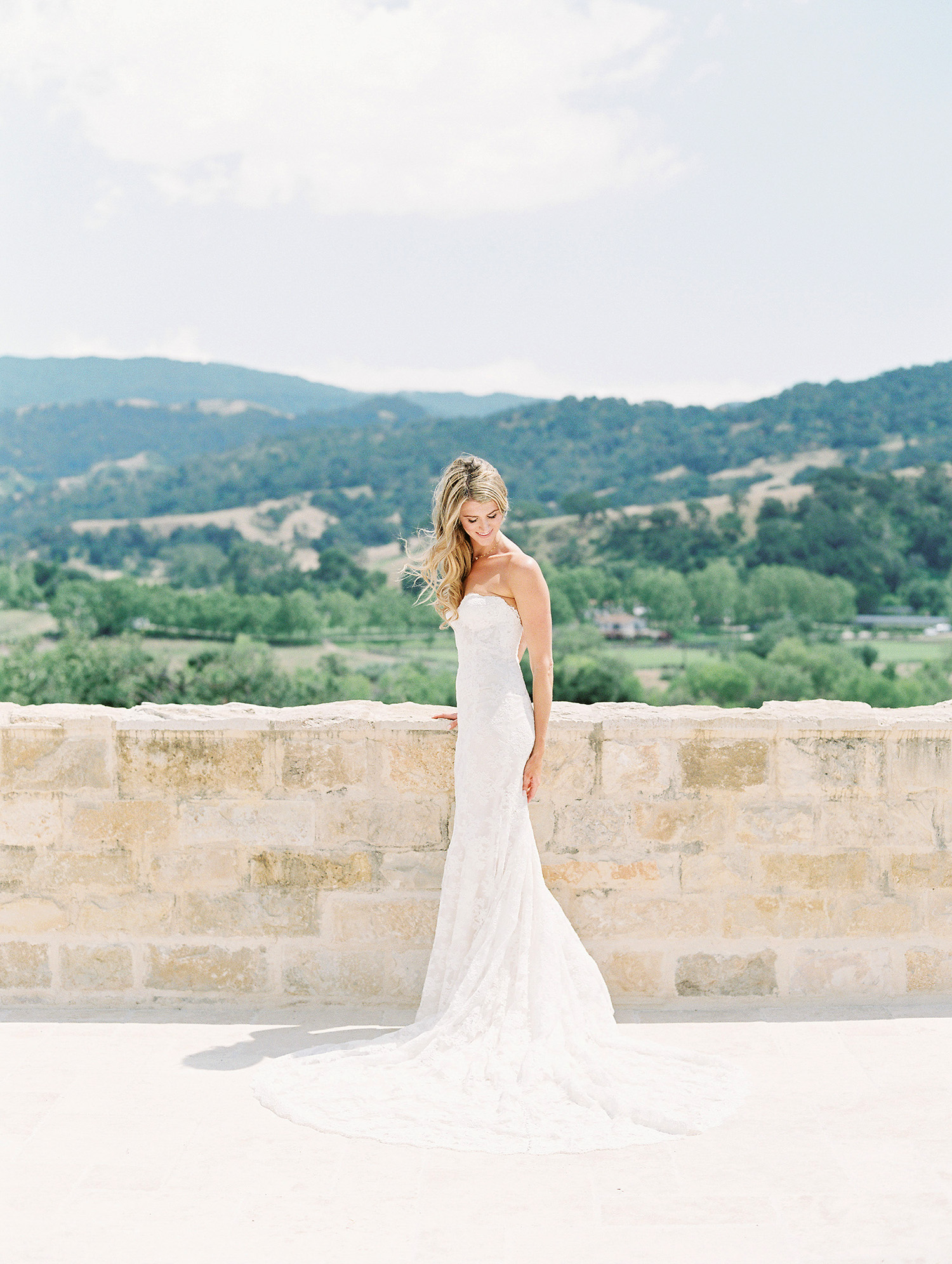 kati erik wedding bride dress
