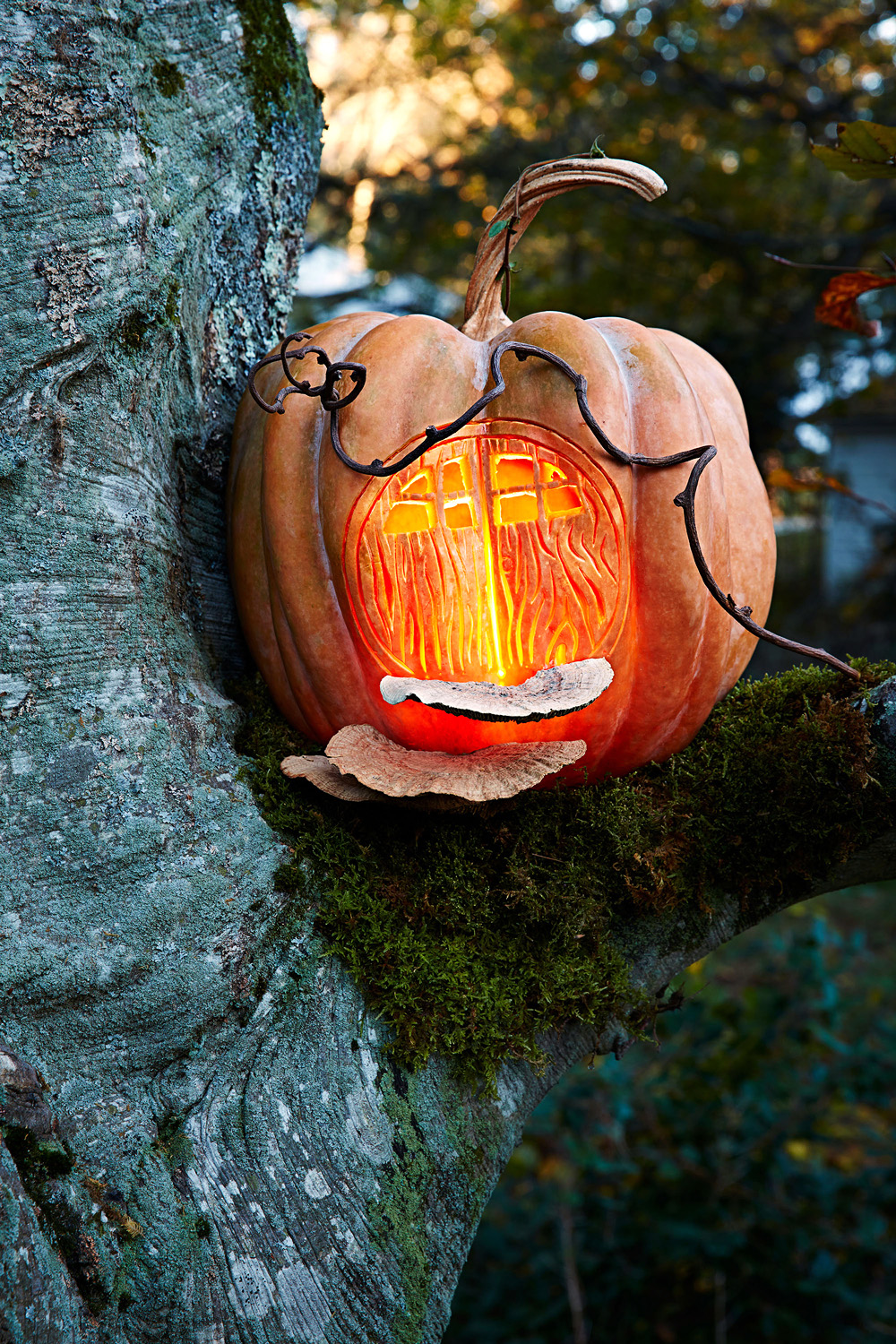 Fairy House Pumpkin