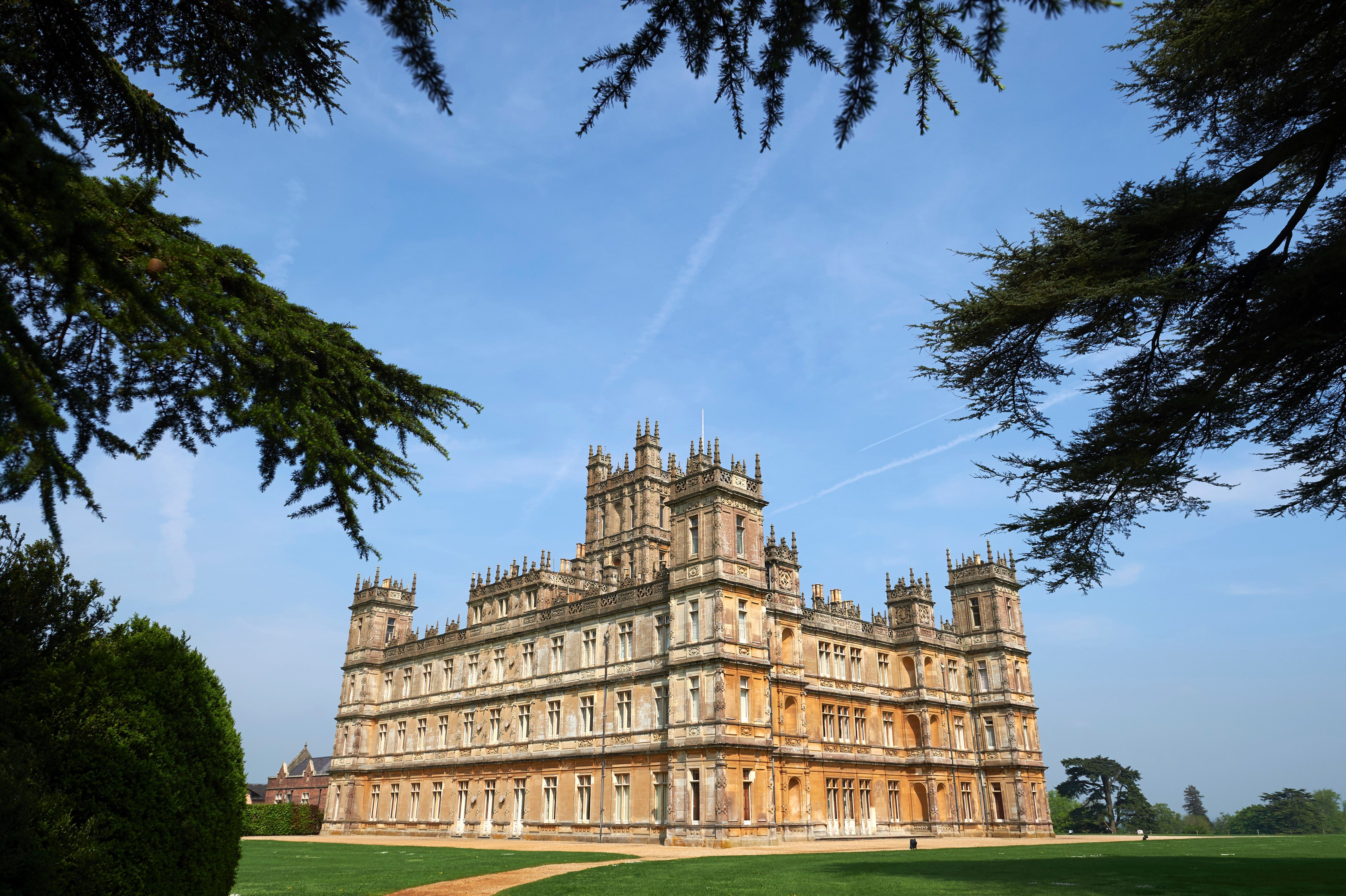 Highclere Castle, location of 'Downton Abbey'