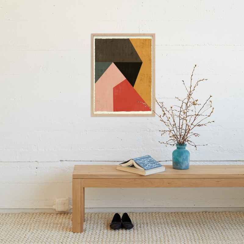 geometric artwork by minted