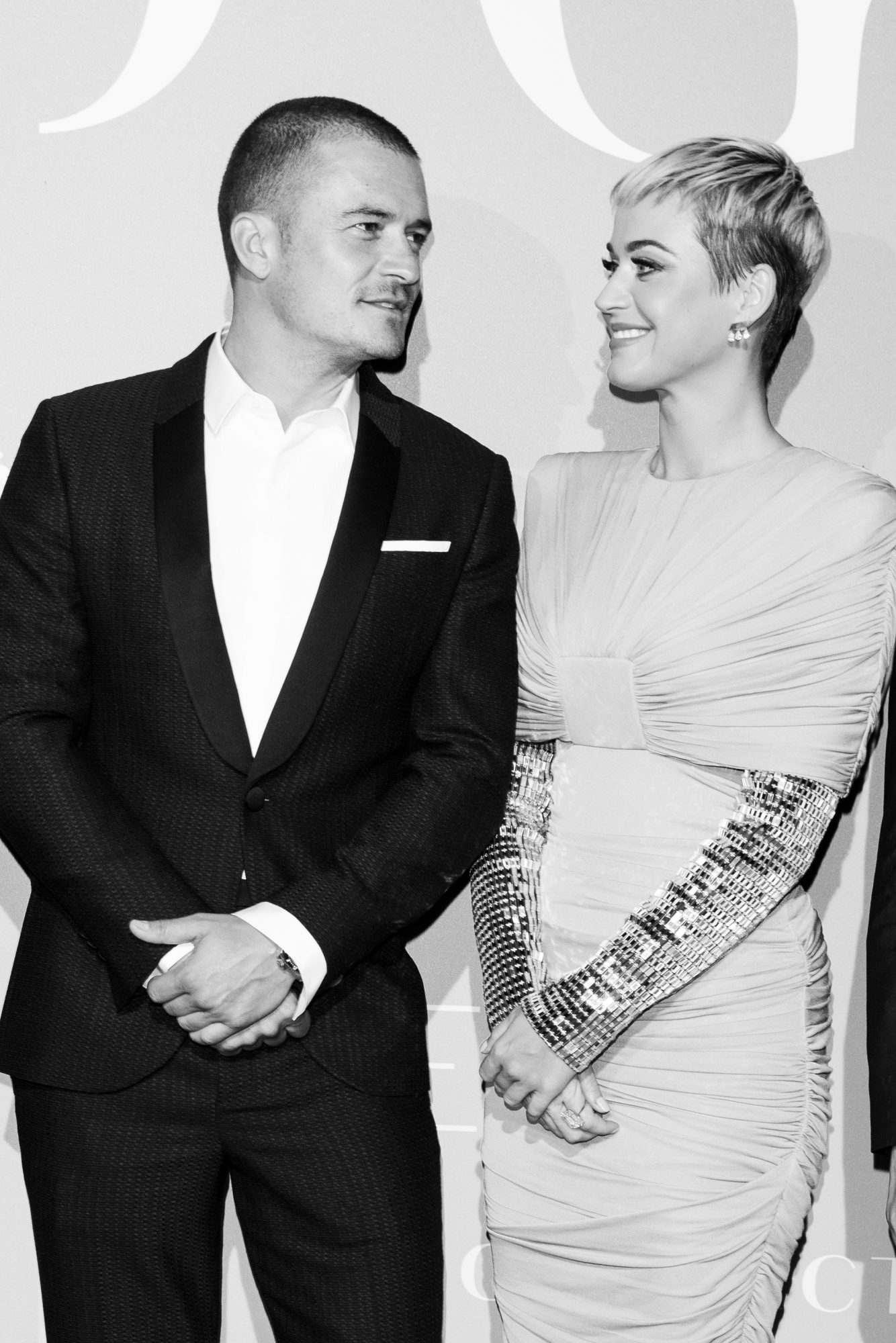 Katy Perry and Orlando Bloom at the Monte-Carlo Gala for the Global Ocean 2018