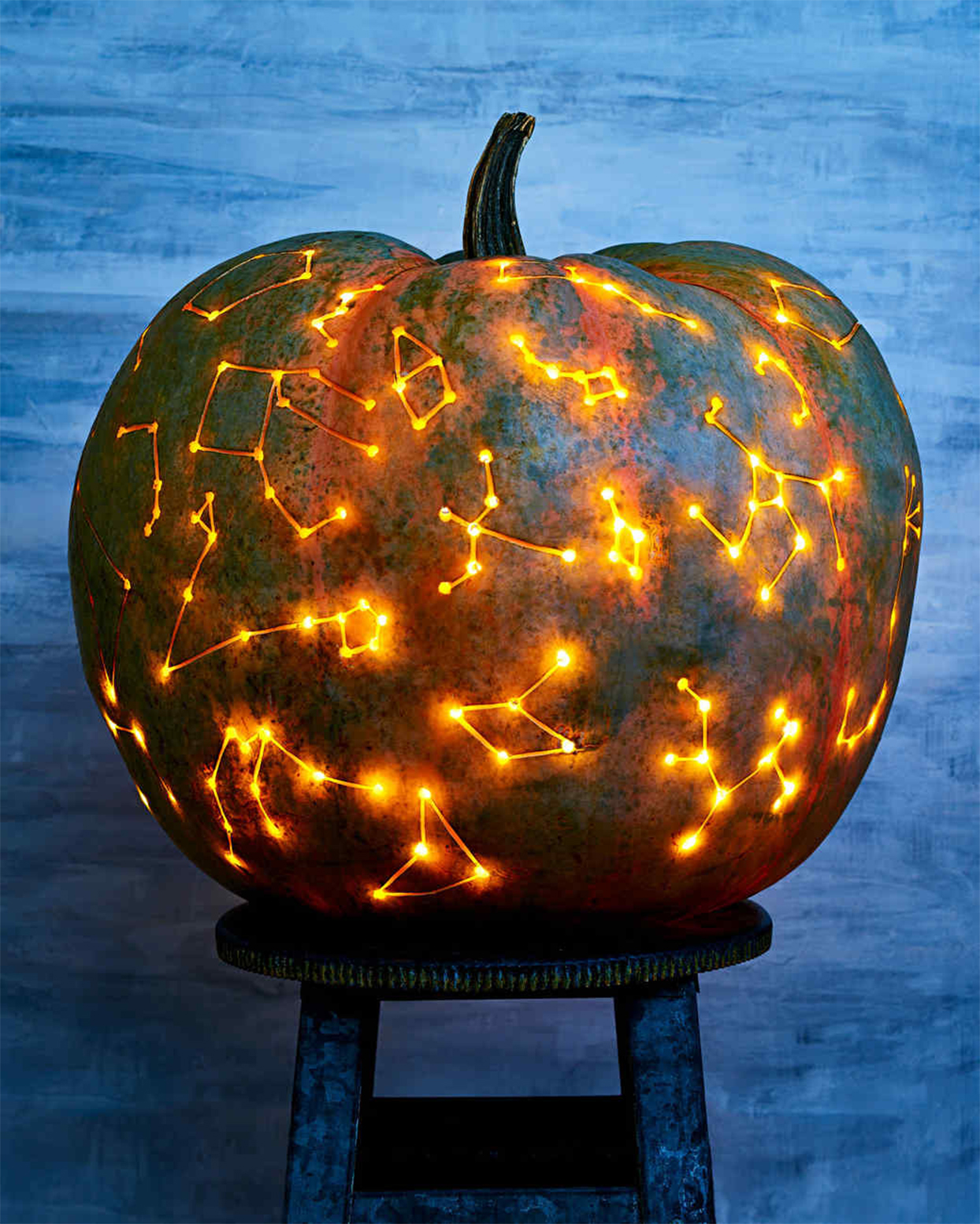 Starry-Night Pumpkin
