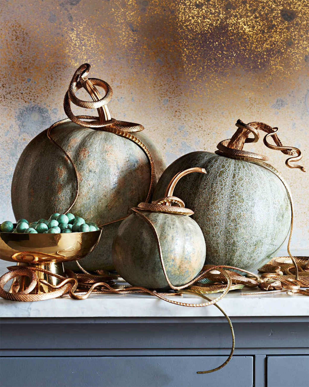Snake-Infested Pumpkins