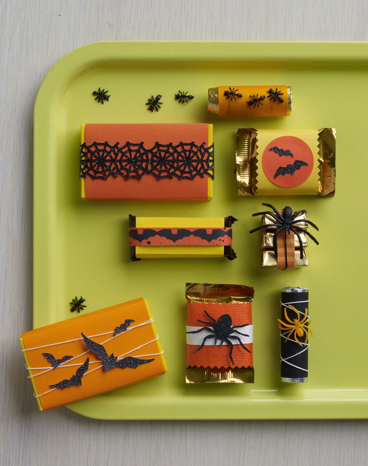 Halloween Theme Candy Bars Wraps