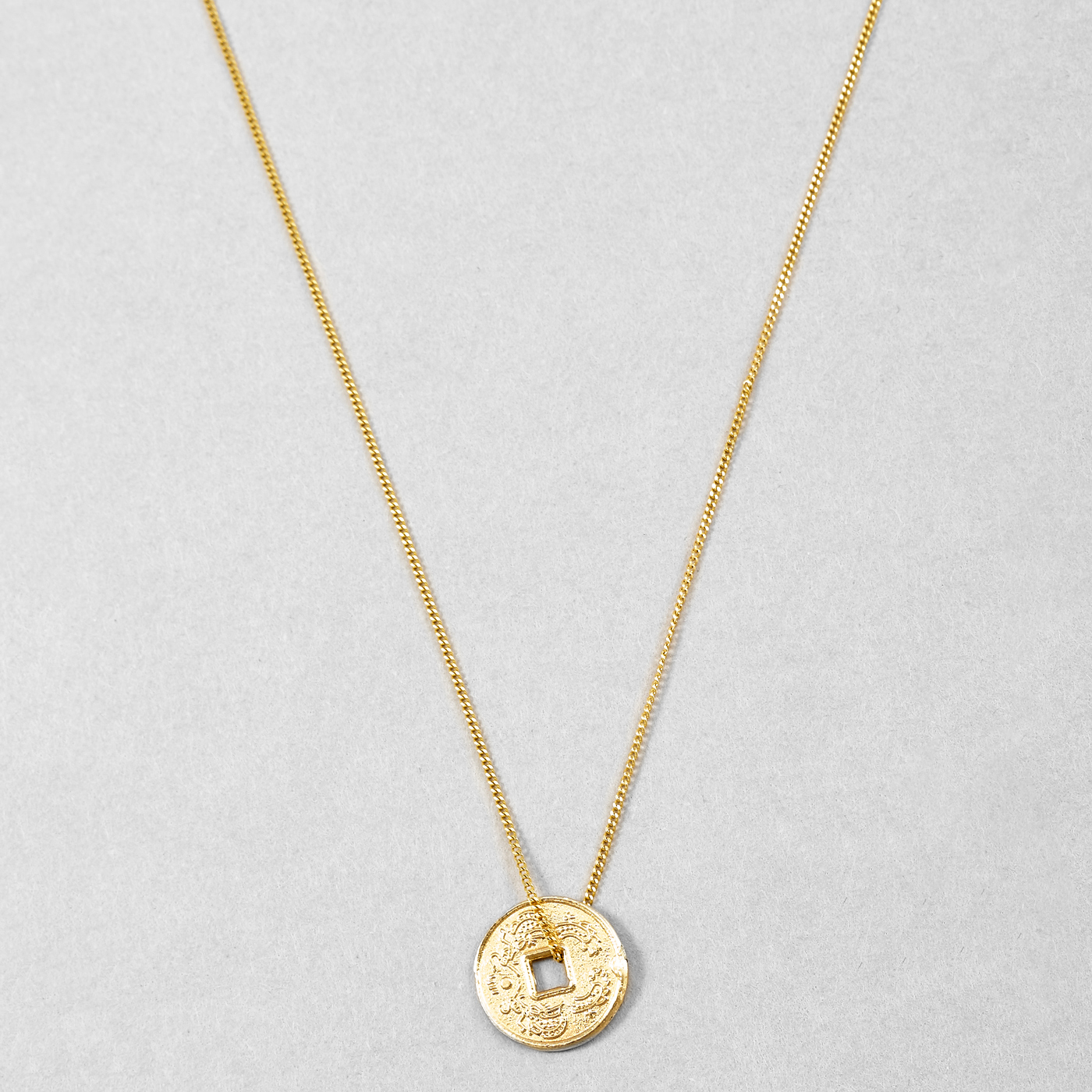Loren Stewart Coin Pendant Necklace