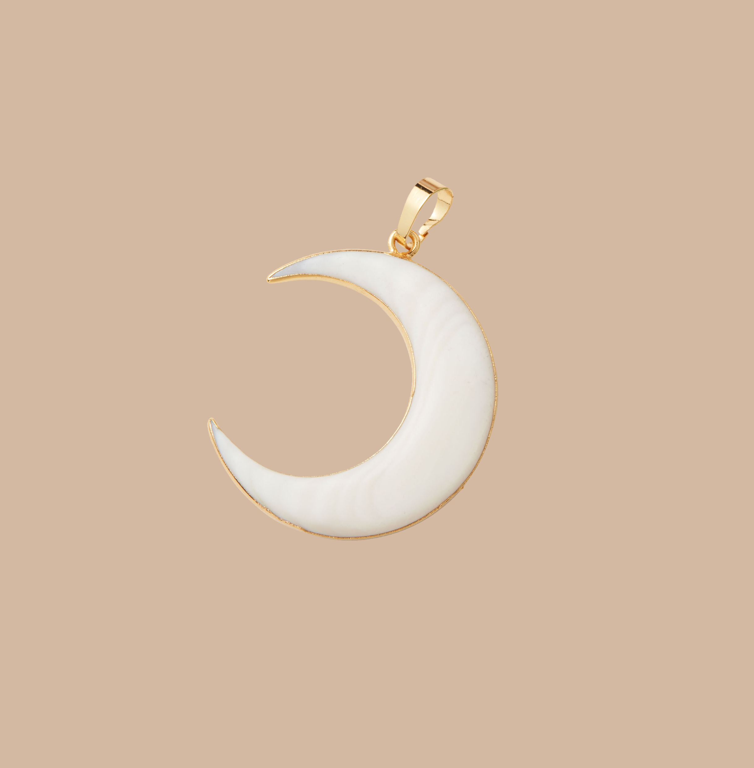 Mojo Supply Co. 'Georgina' Moon Pendant