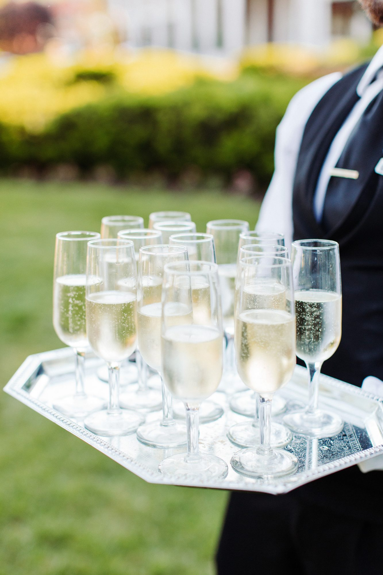 bryanna nick wedding try of champagne
