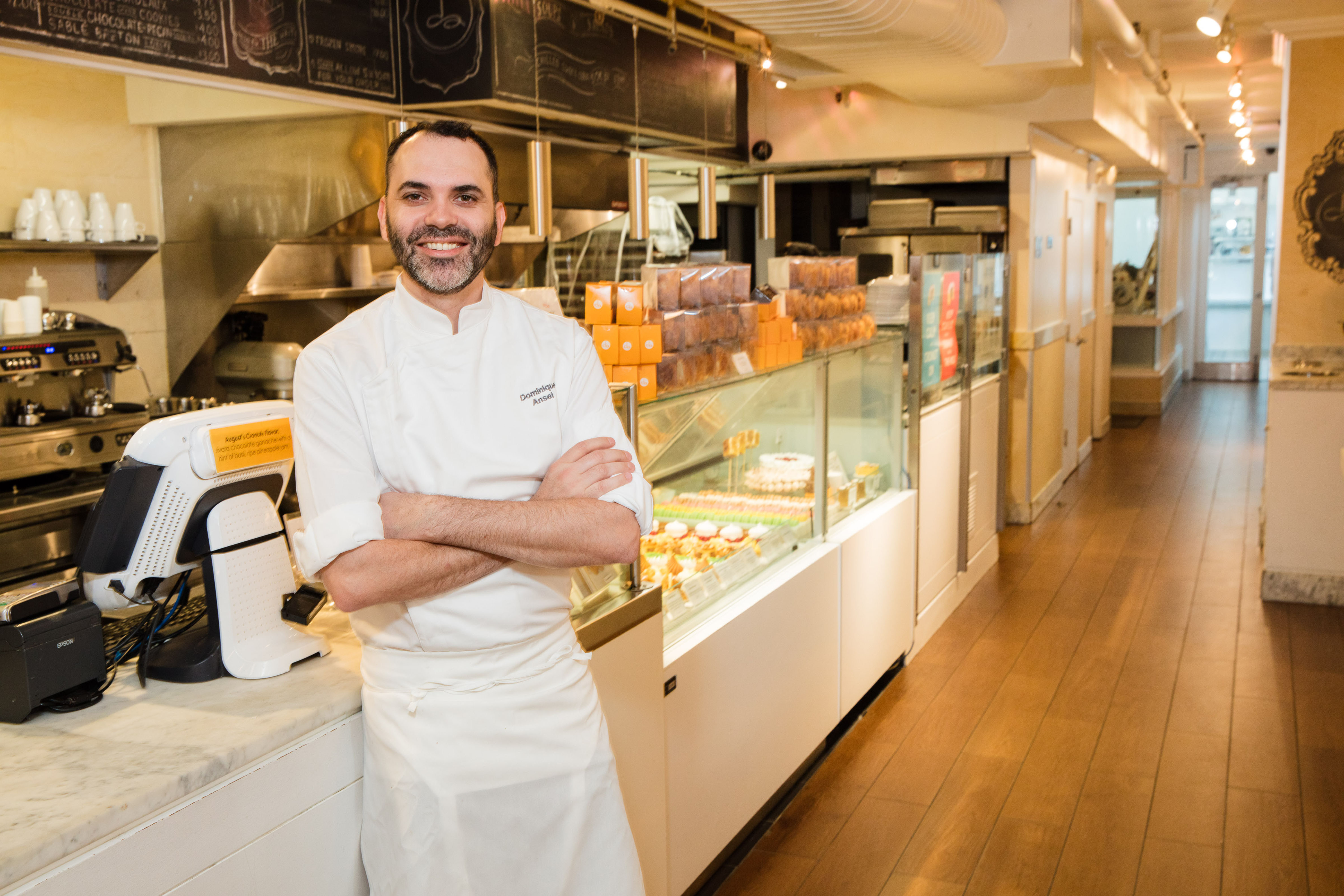 Chef Dominique Ansel in NYC Bakery