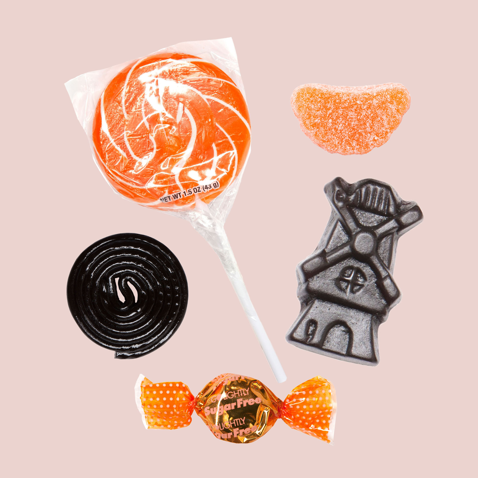 Halloween candy from Economy Candy