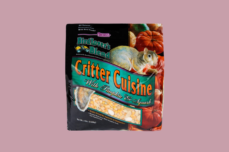 Brown's Critter Cuisine with Squash & Pumpkin Seeds