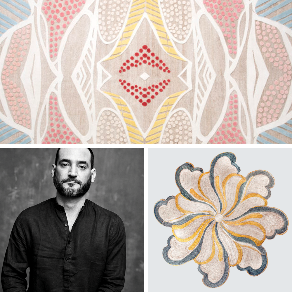 Inigo Elizalde and his artisanal rugs