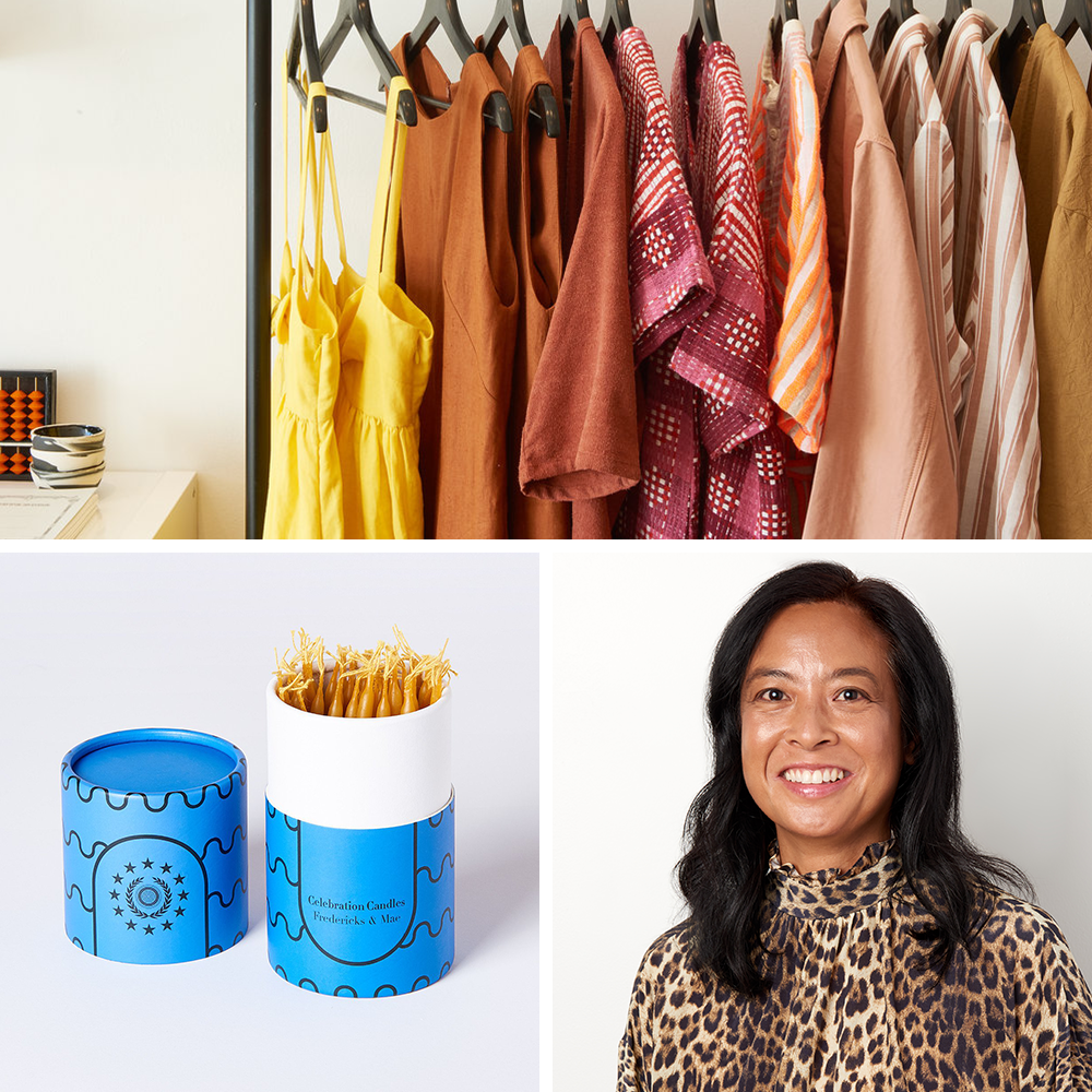 Tina Burgos and her artisanal boutique Covet + Lou