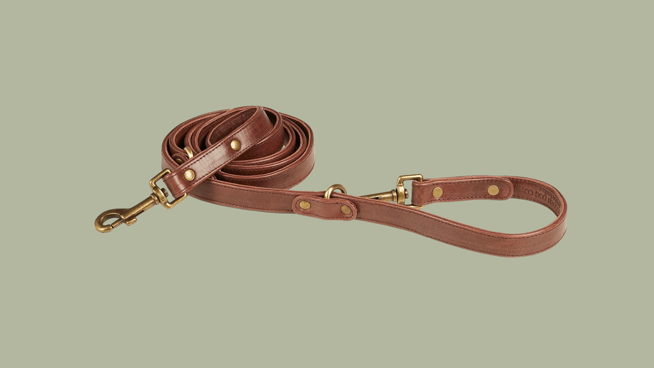 Adjustable Leather Leash