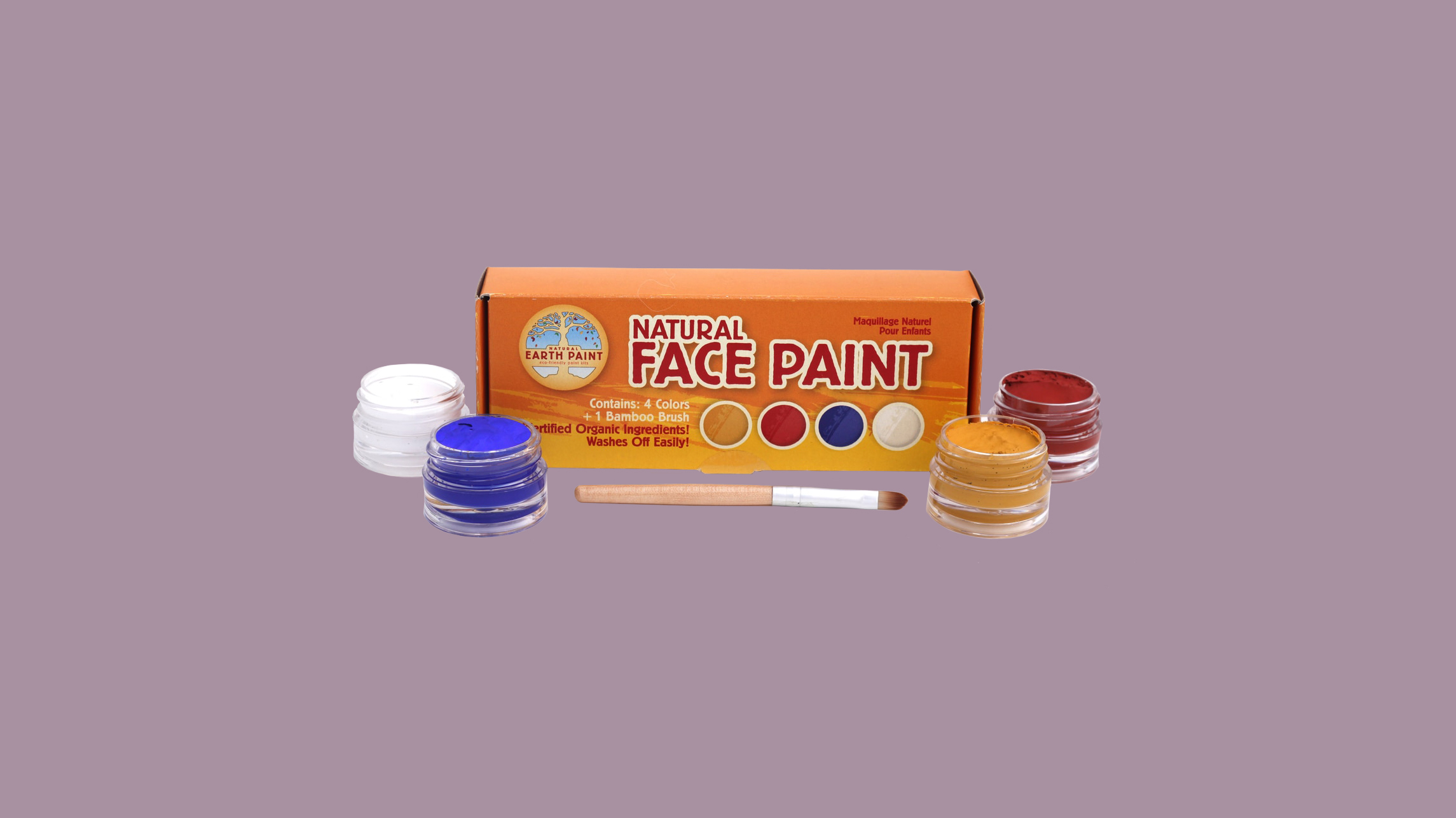 Natural Earth Face Paint