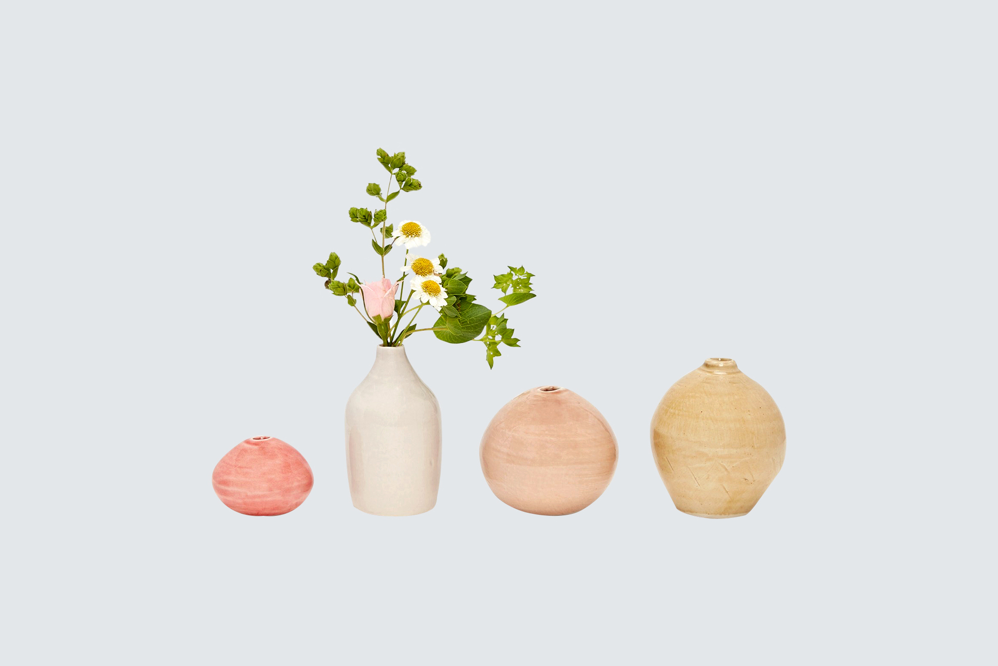 glazed ceramic vases by ABC Carpet and Home