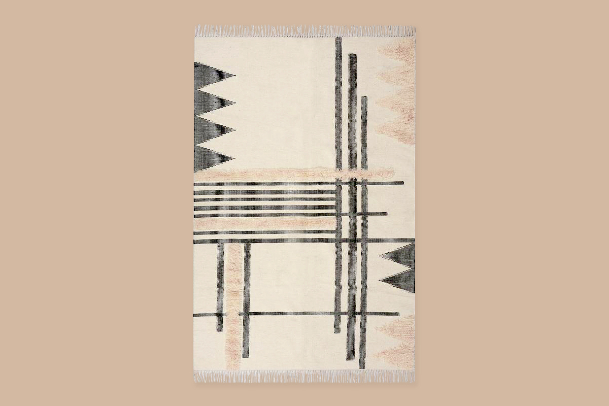 modern geometric sustainable Loomy rug