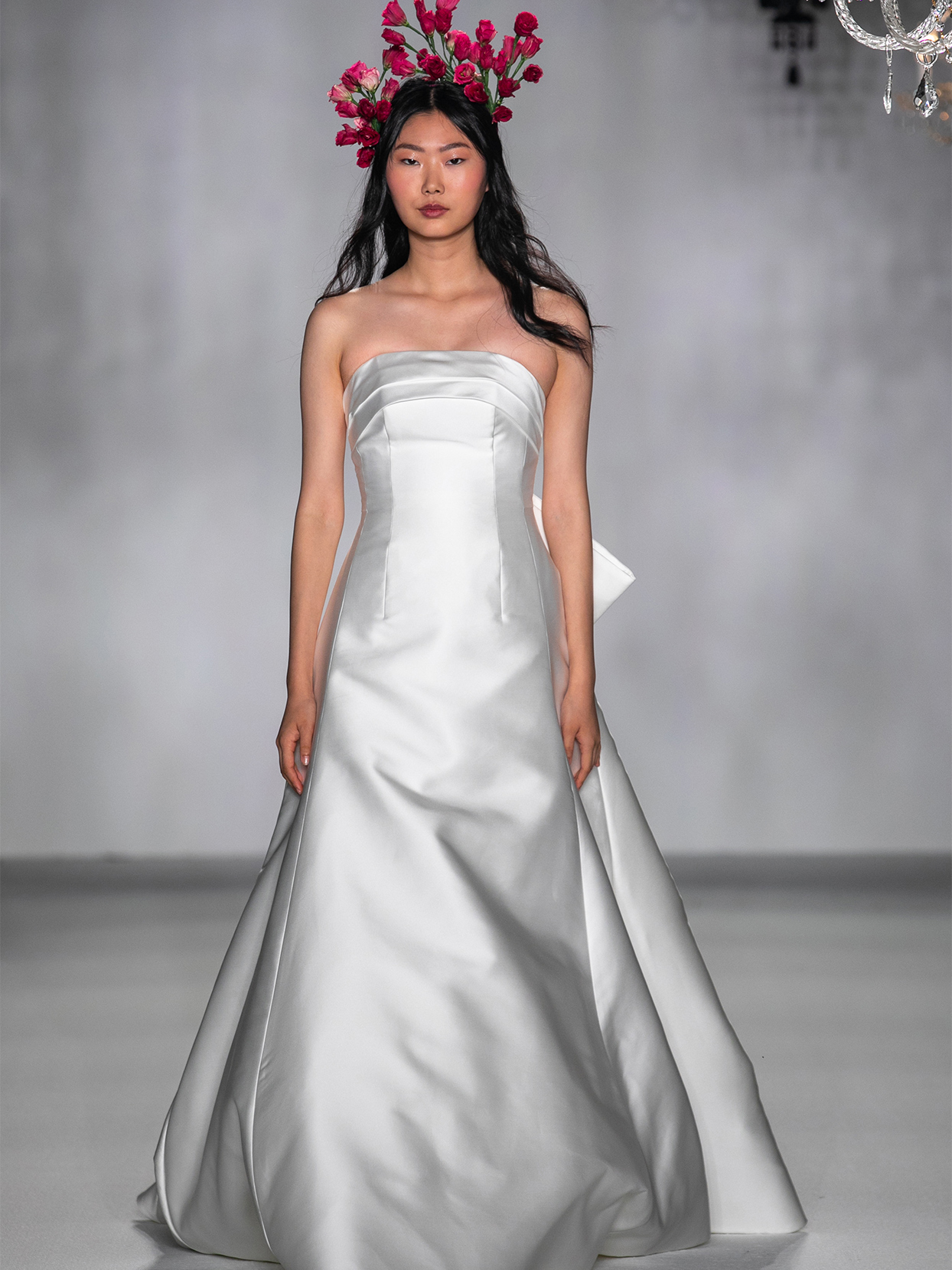 anne barge strapless a line wedding dress fall 2020