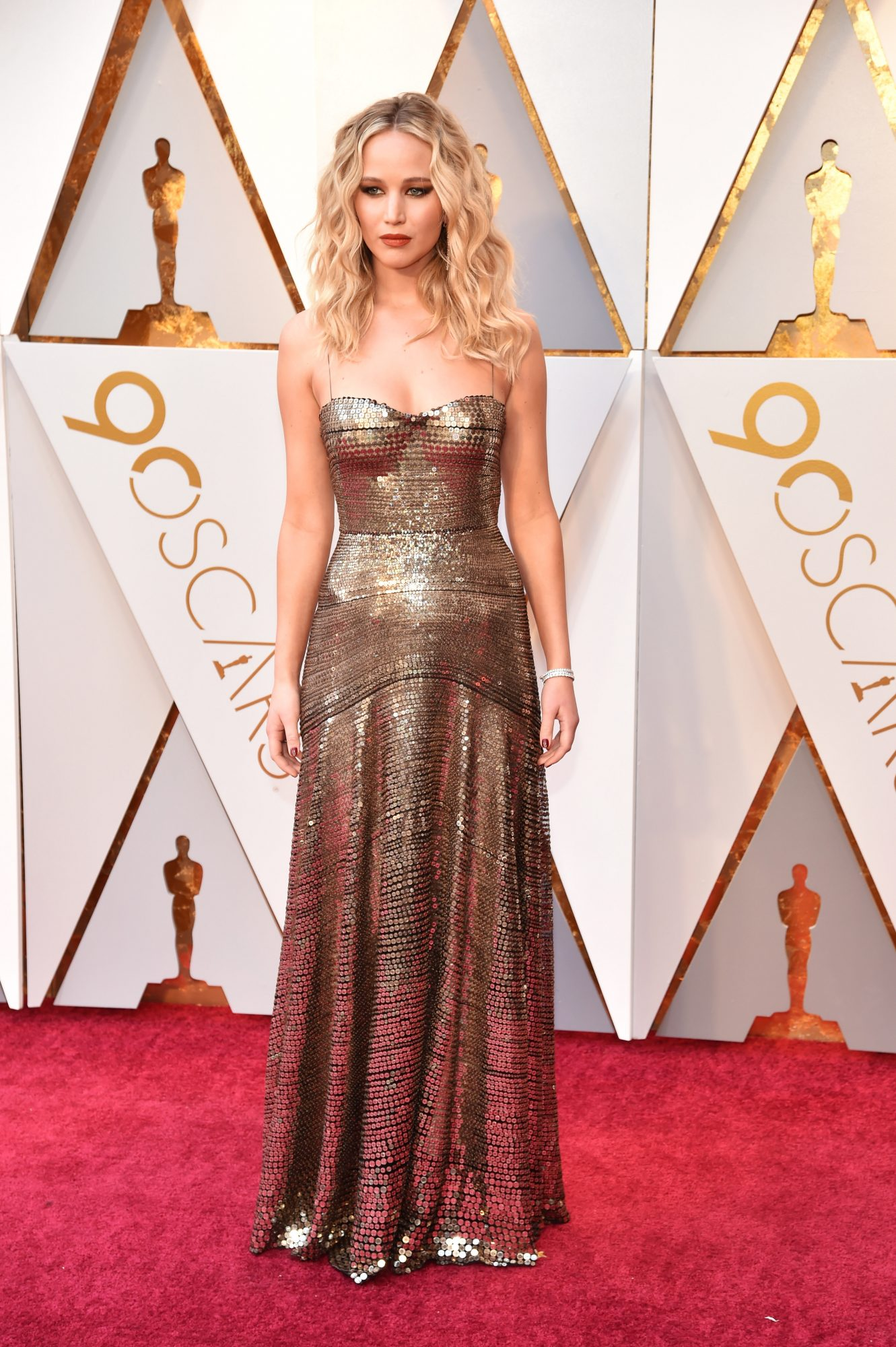 Jennifer Lawrence 2018 Oscars Red Carpet