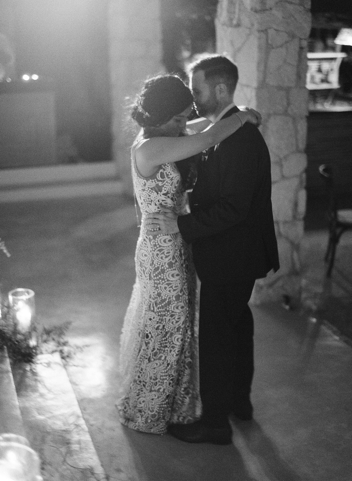 sophie jordan first dance black and white photo