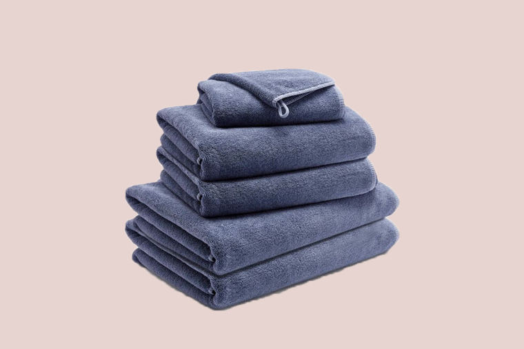 Riley Home Spa Towels, Navy