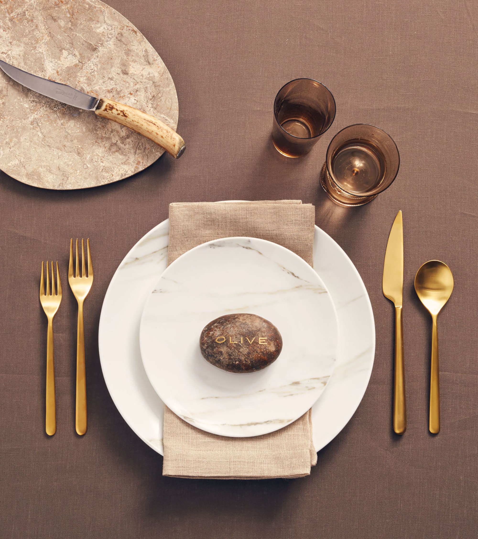 Rock Earthly Place Setting