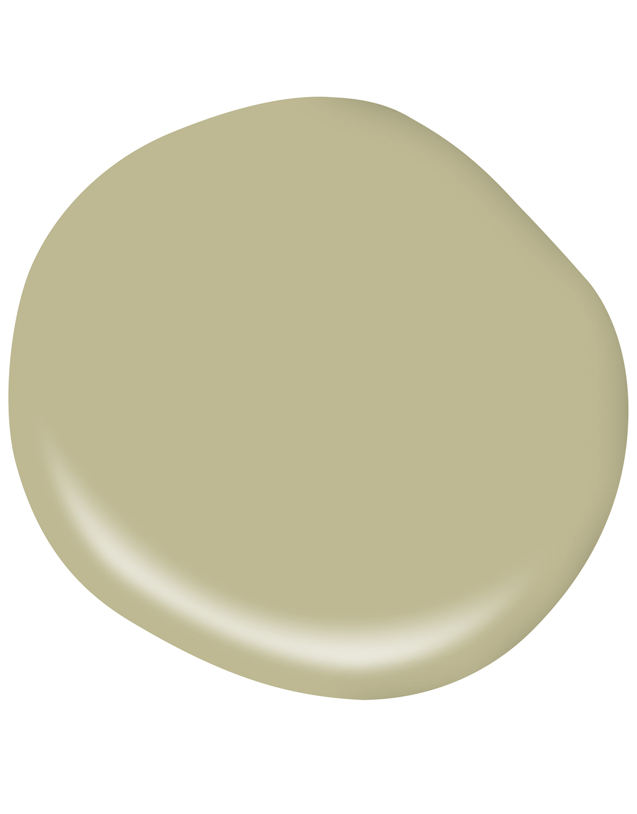 Muted Green paint swatch