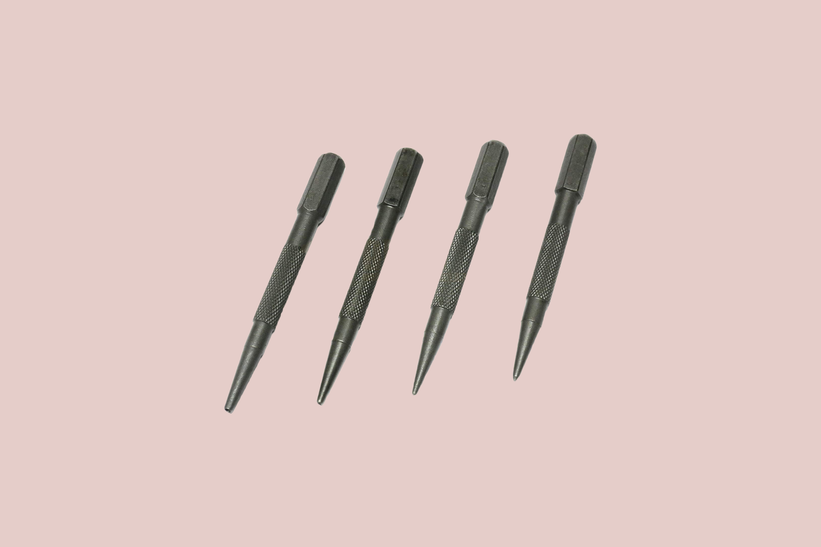 Qualihome 4 Piece Nail Setter & Center Punch Set