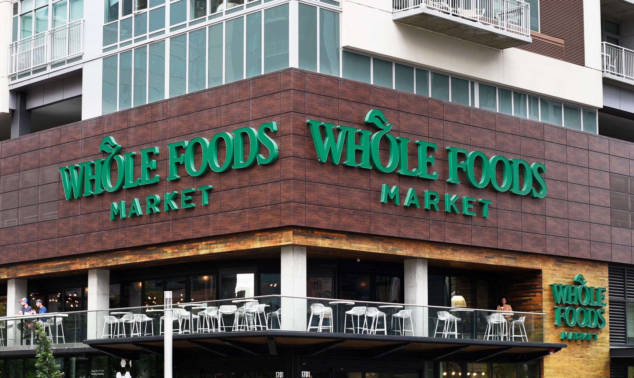Exterior of Whole Foods Store