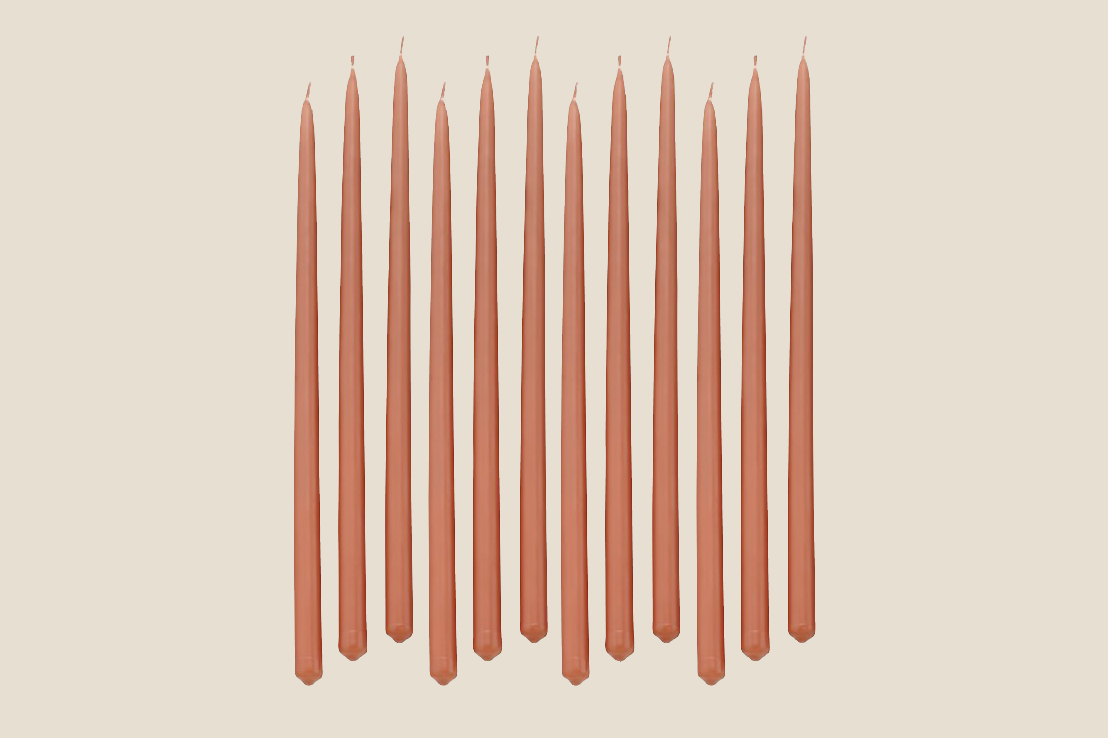 williams sonoma tiny taper candle set