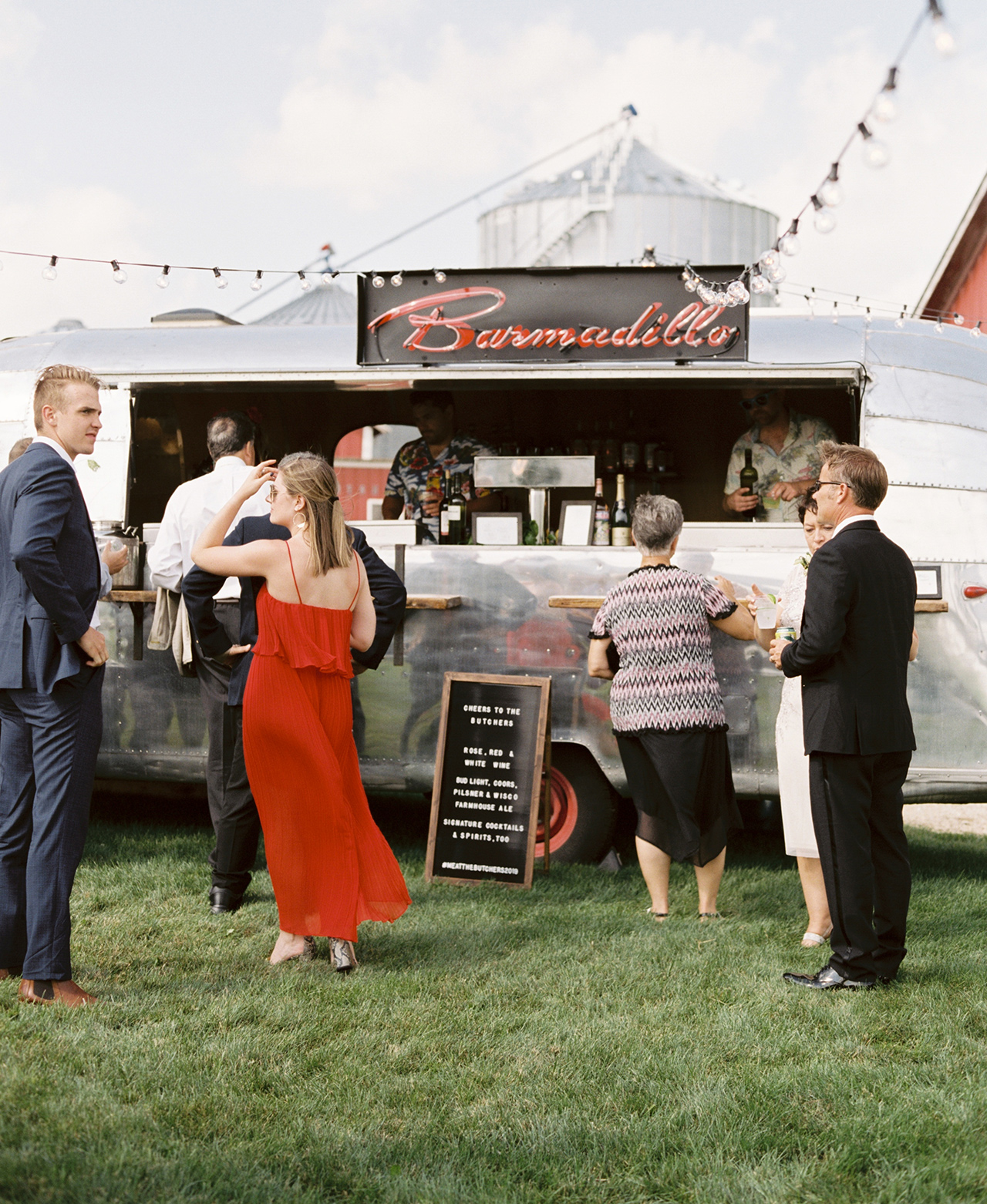 Airstream Bar Food Truck Outdoors