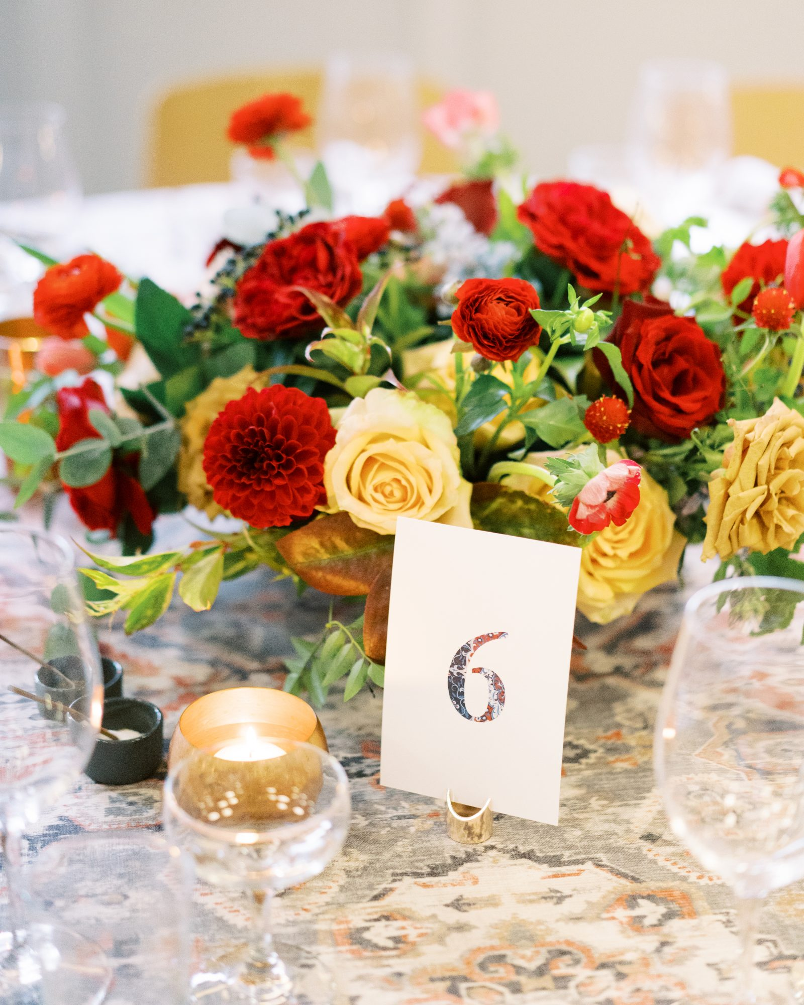 meaghan and david wedding centerpieces