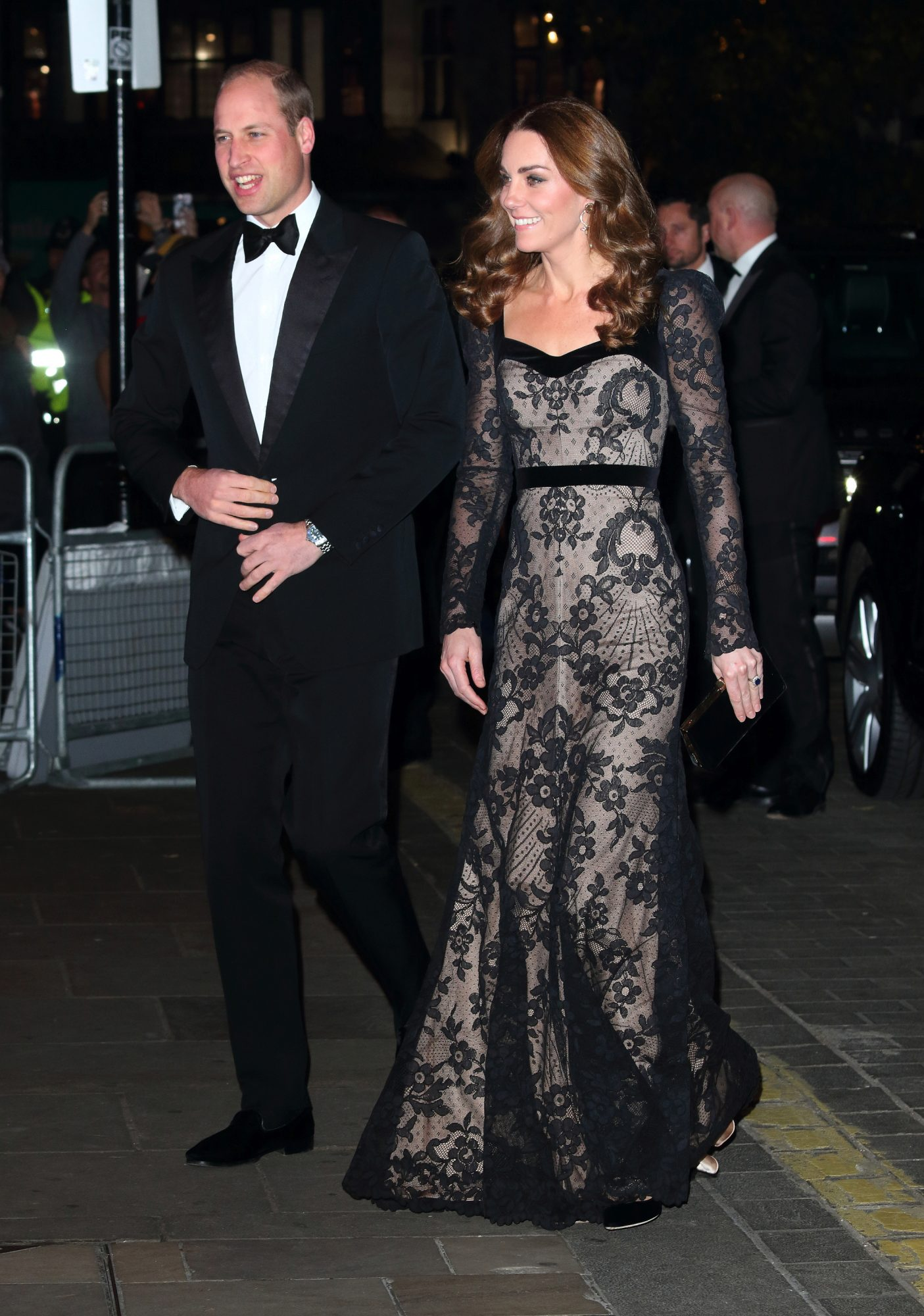 Prince William and Kate Middleton at Royal Variety Performance