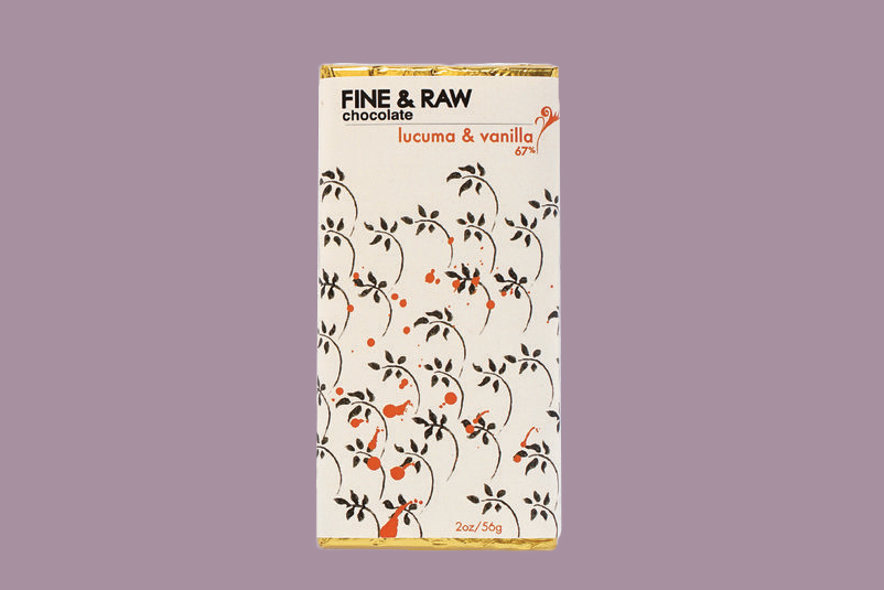 fine and raw chocolate bar