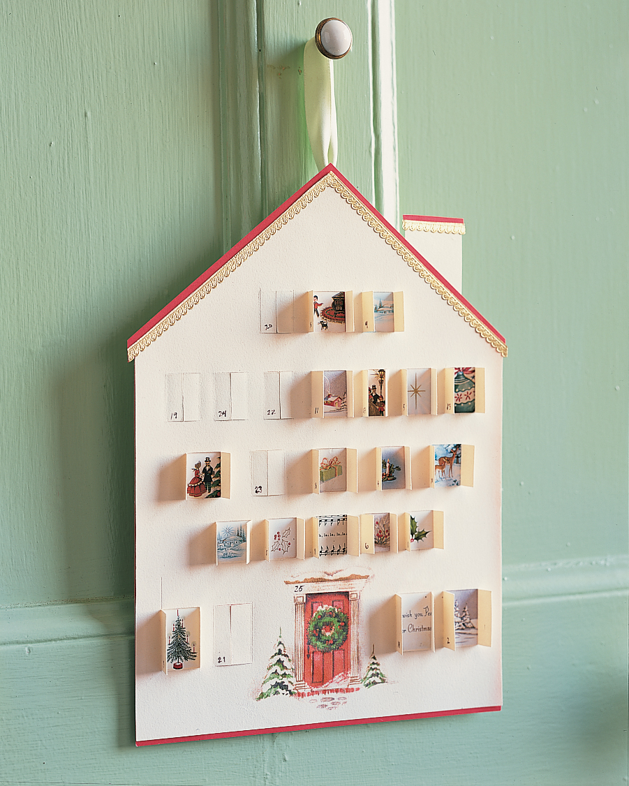advent calendar of greeting cards
