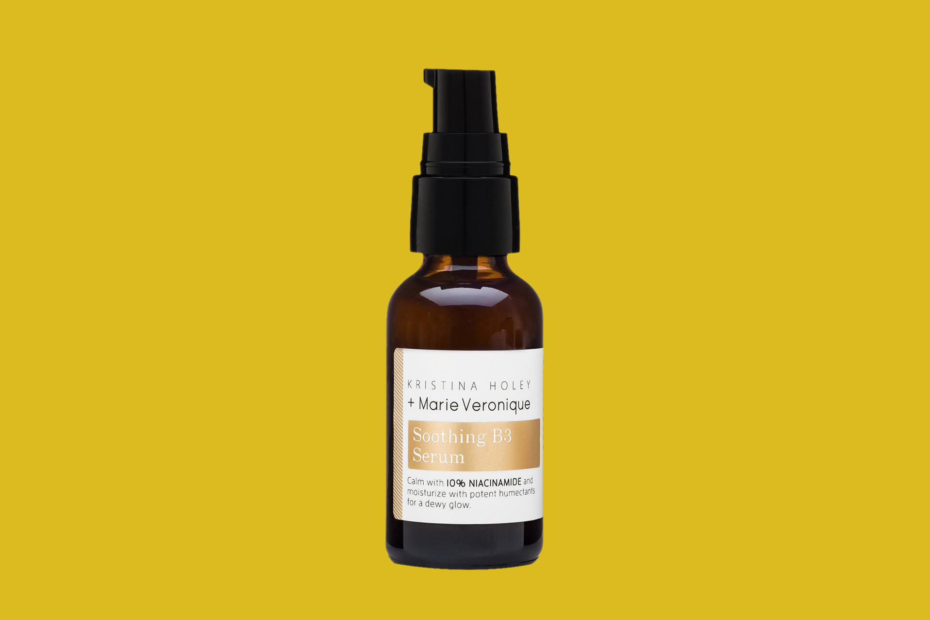 small brown bottle Marie Veronique Soothing B3 Serum