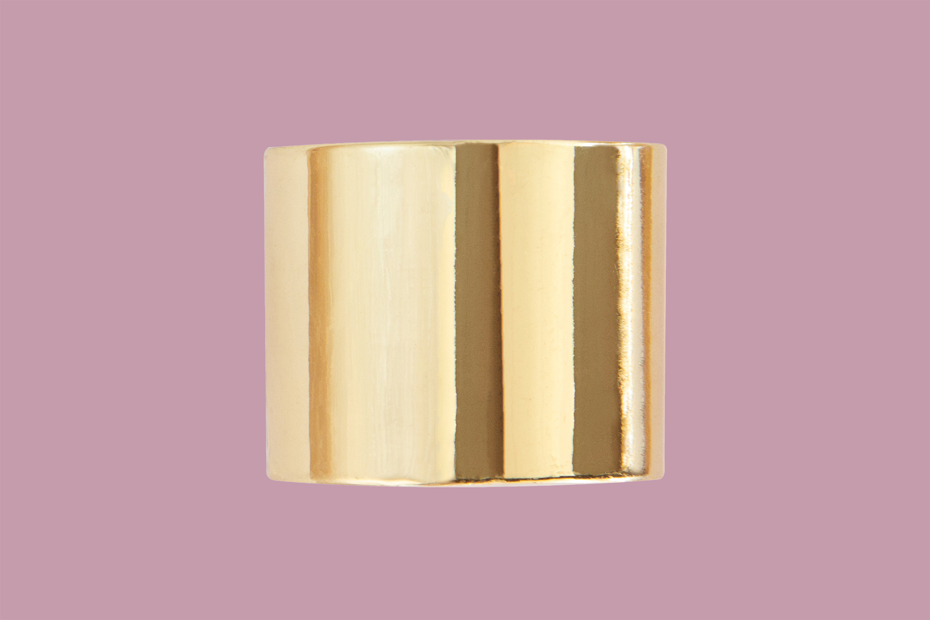Beachwaver Co. Hair Cuff in Solid Gold