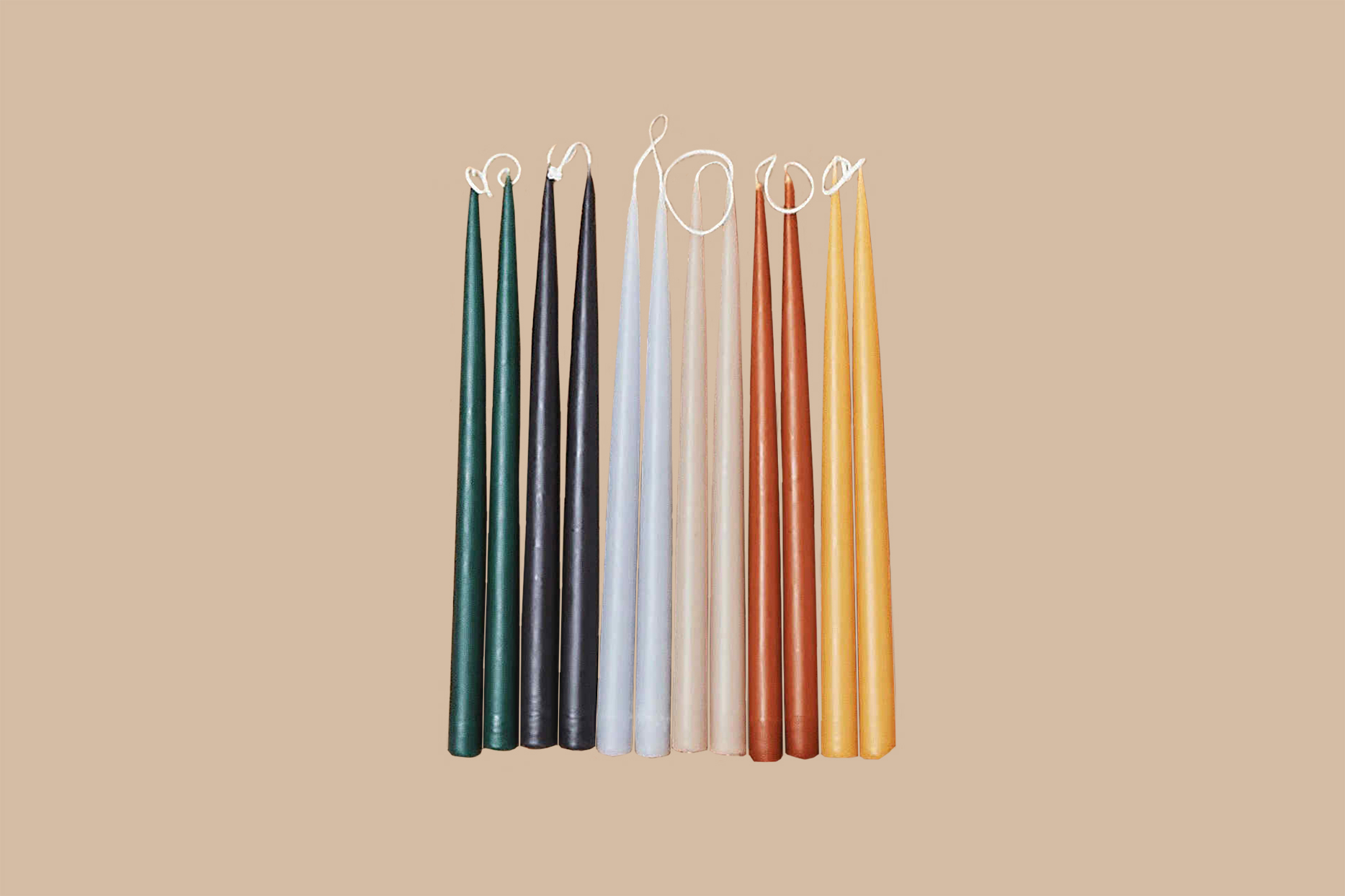 "Hawkins New York ""Danica"" 13"" Taper Candles"