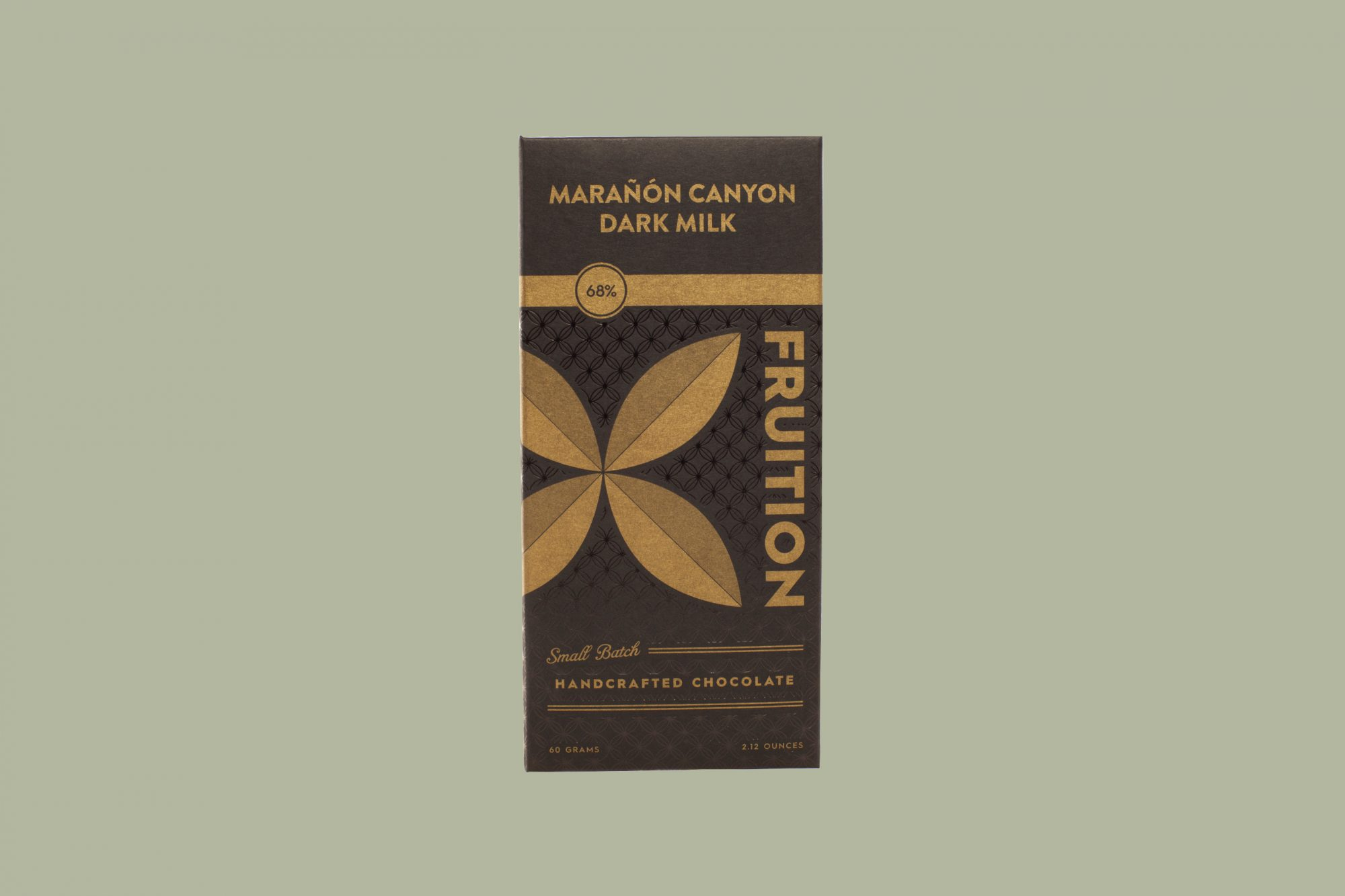 fruition dark milk chocolate bar